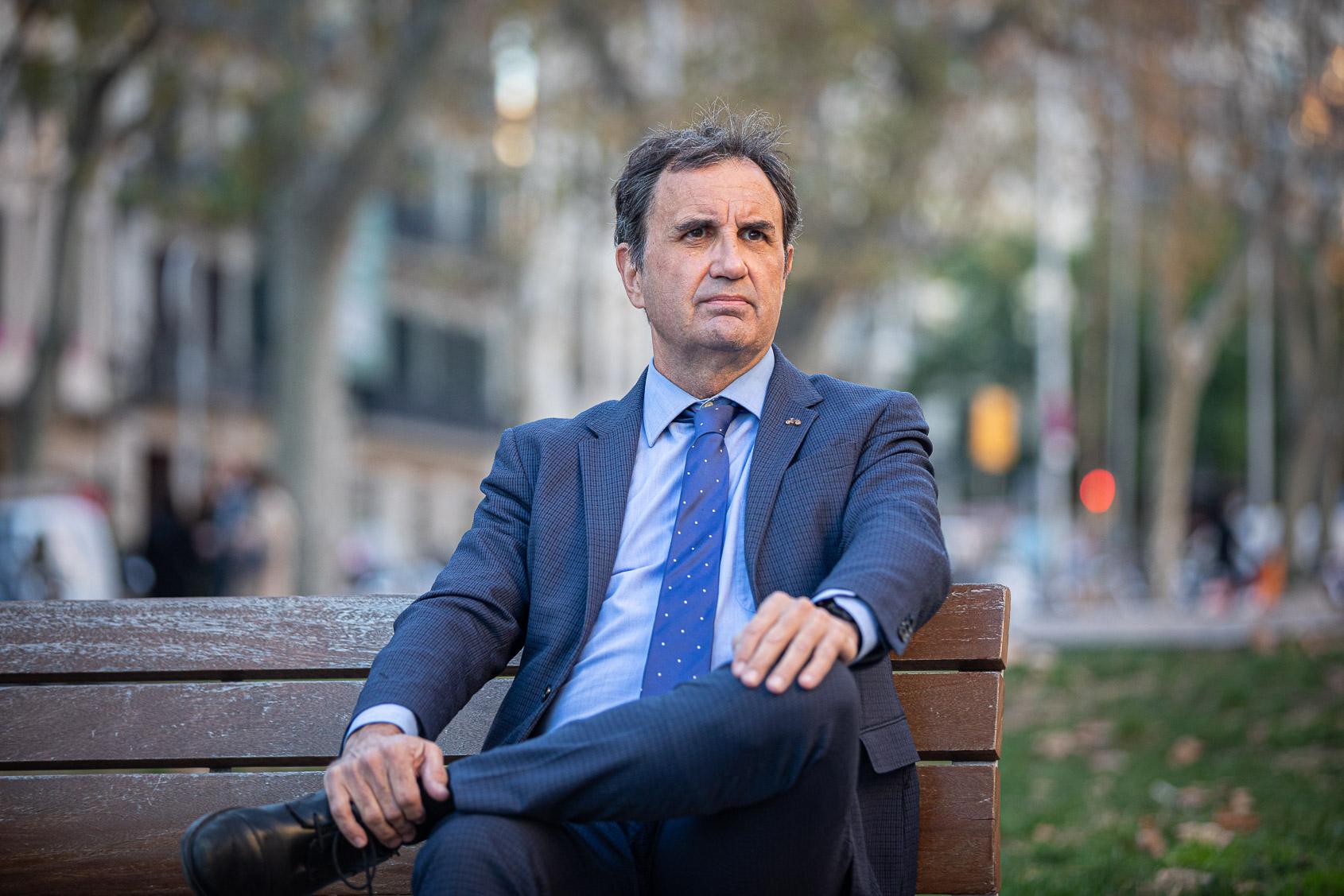 L'advocat Arcadi Sala-Planell, fitxat pel banc 11Onze / Jordi Borràs