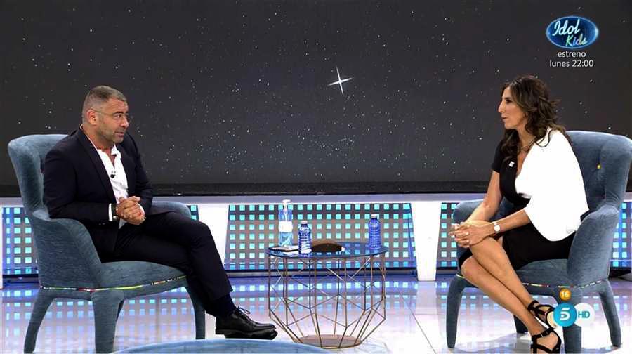 Jorge Javier Vázquez entrevista Paz Padilla al 'Deluxe' / Telecinco