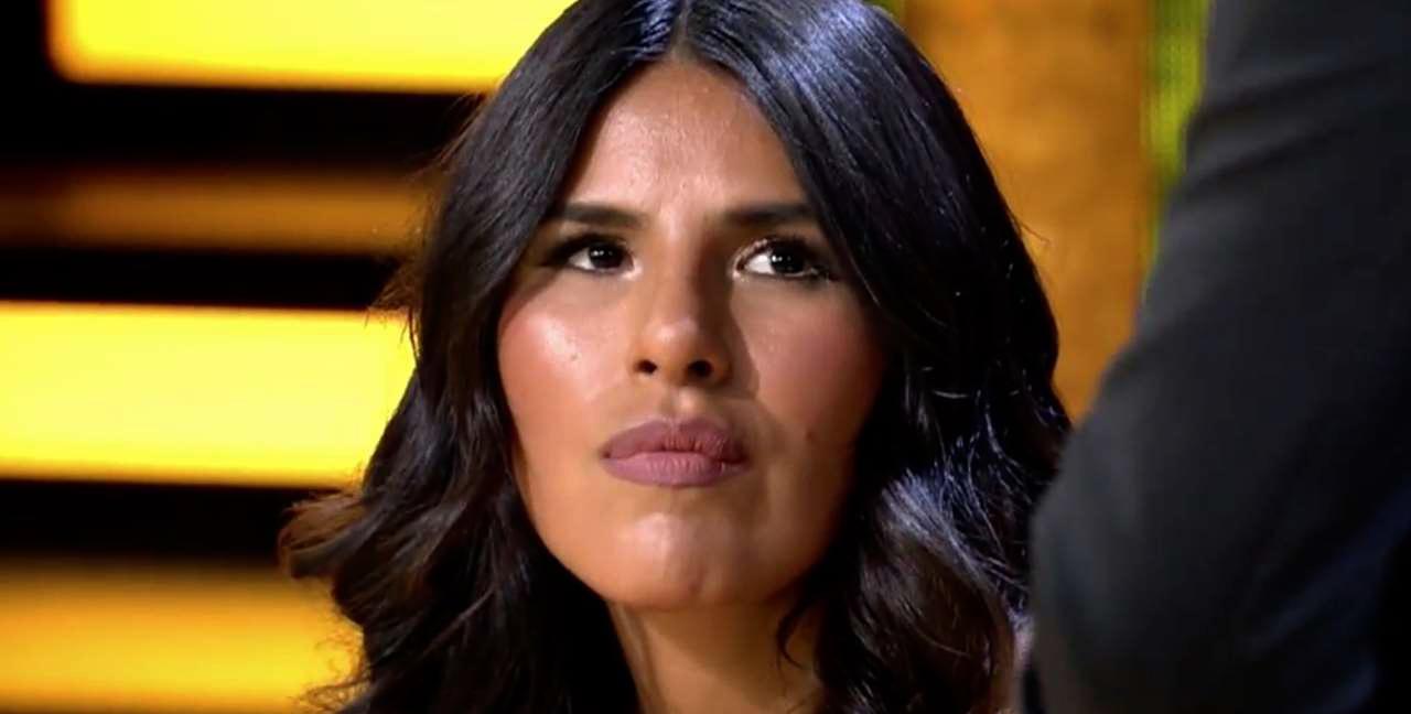 Isa Pantoja, durant una entrevista a 'La casa fuerte' / Telecinco