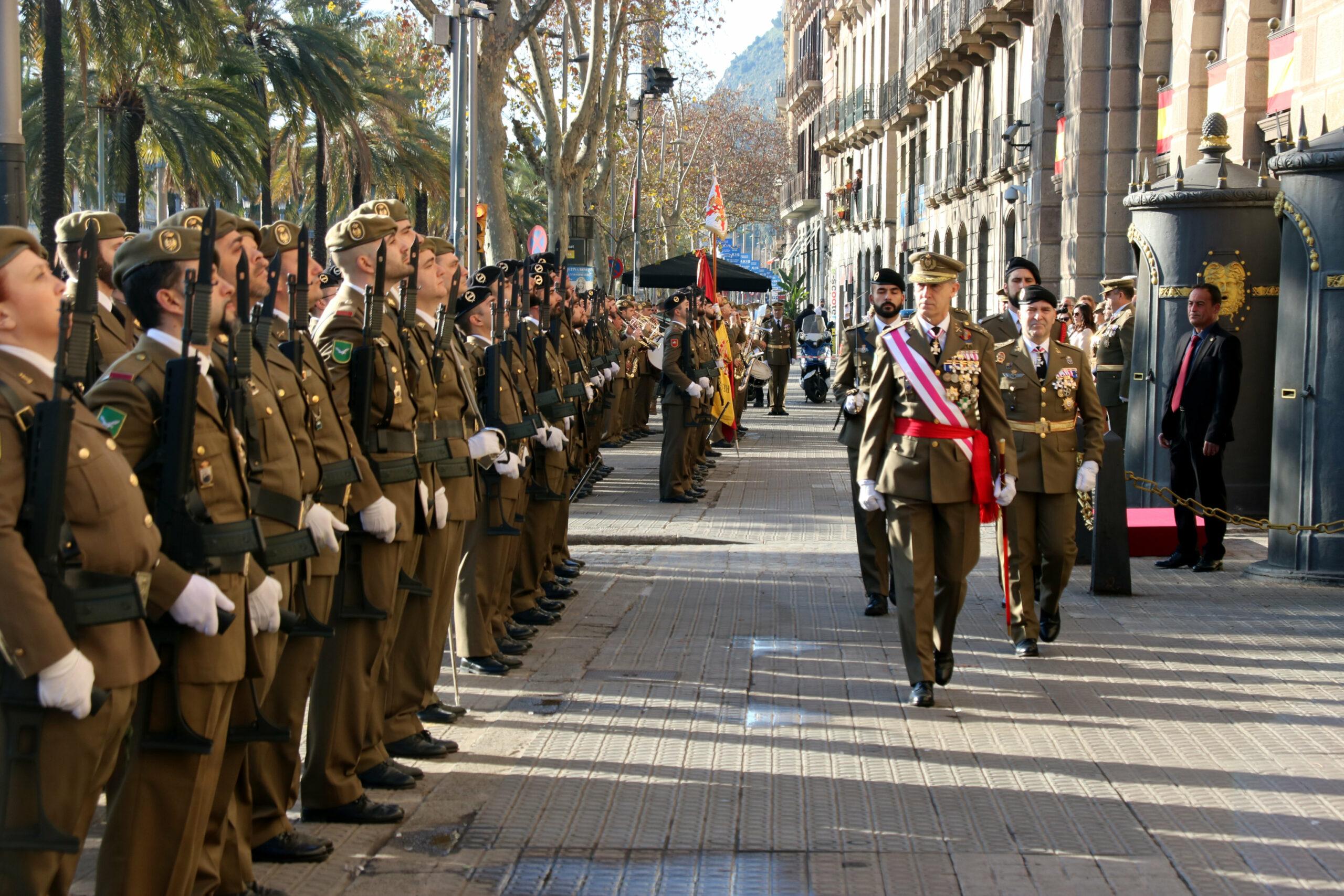 Imatge d'arxiu de militars a Barcelona | ACN