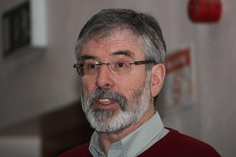 L'expresident del Sinn Féin, Gerry Adams   ACN