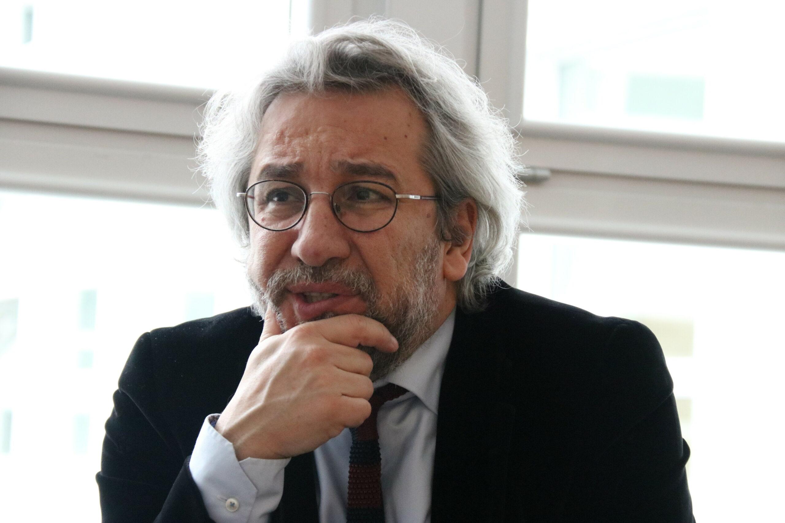 Primer pla del periodista turc exiliat a alemanya, Can Dündar | ACN