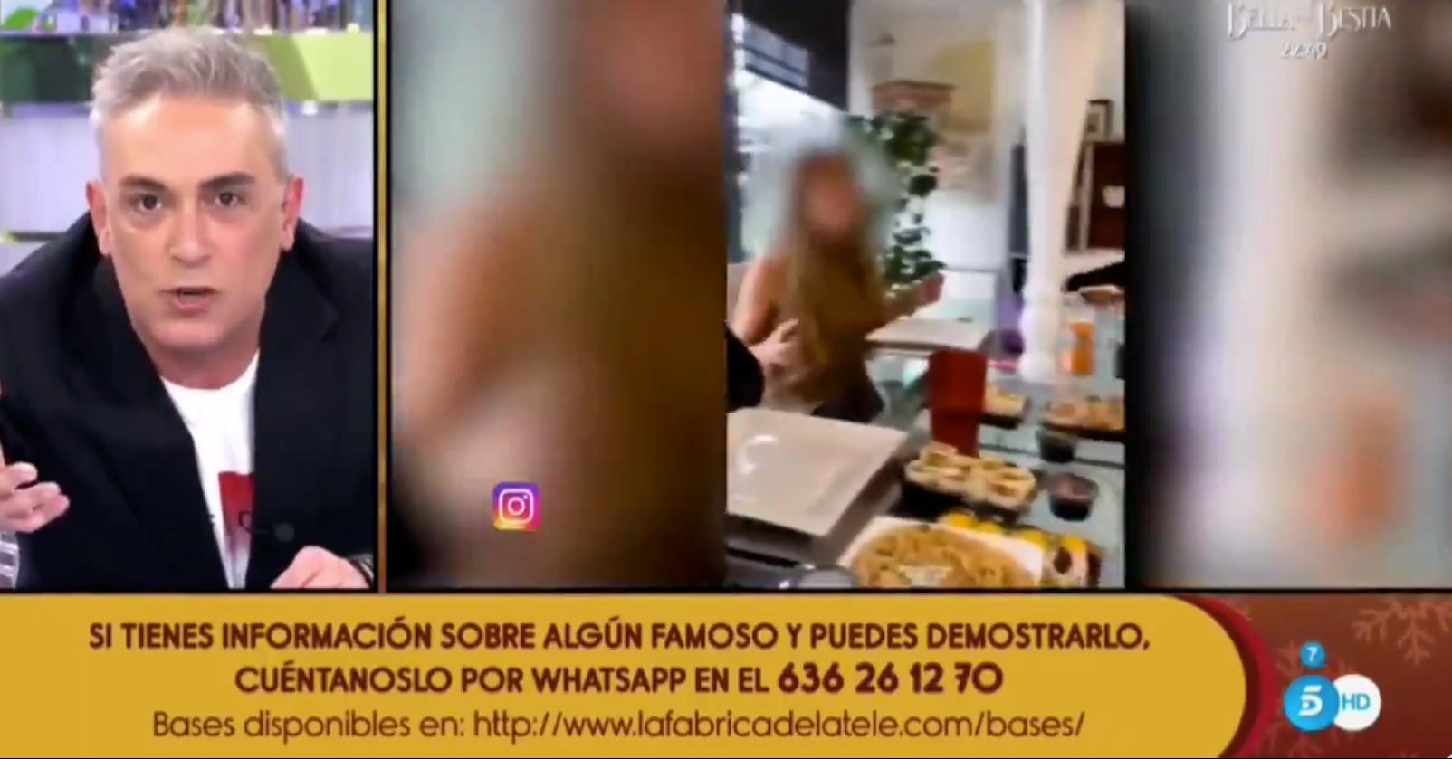 Kiko Hernández esclata a 'Sálvame' contra els joves irresponsables / Telecinco