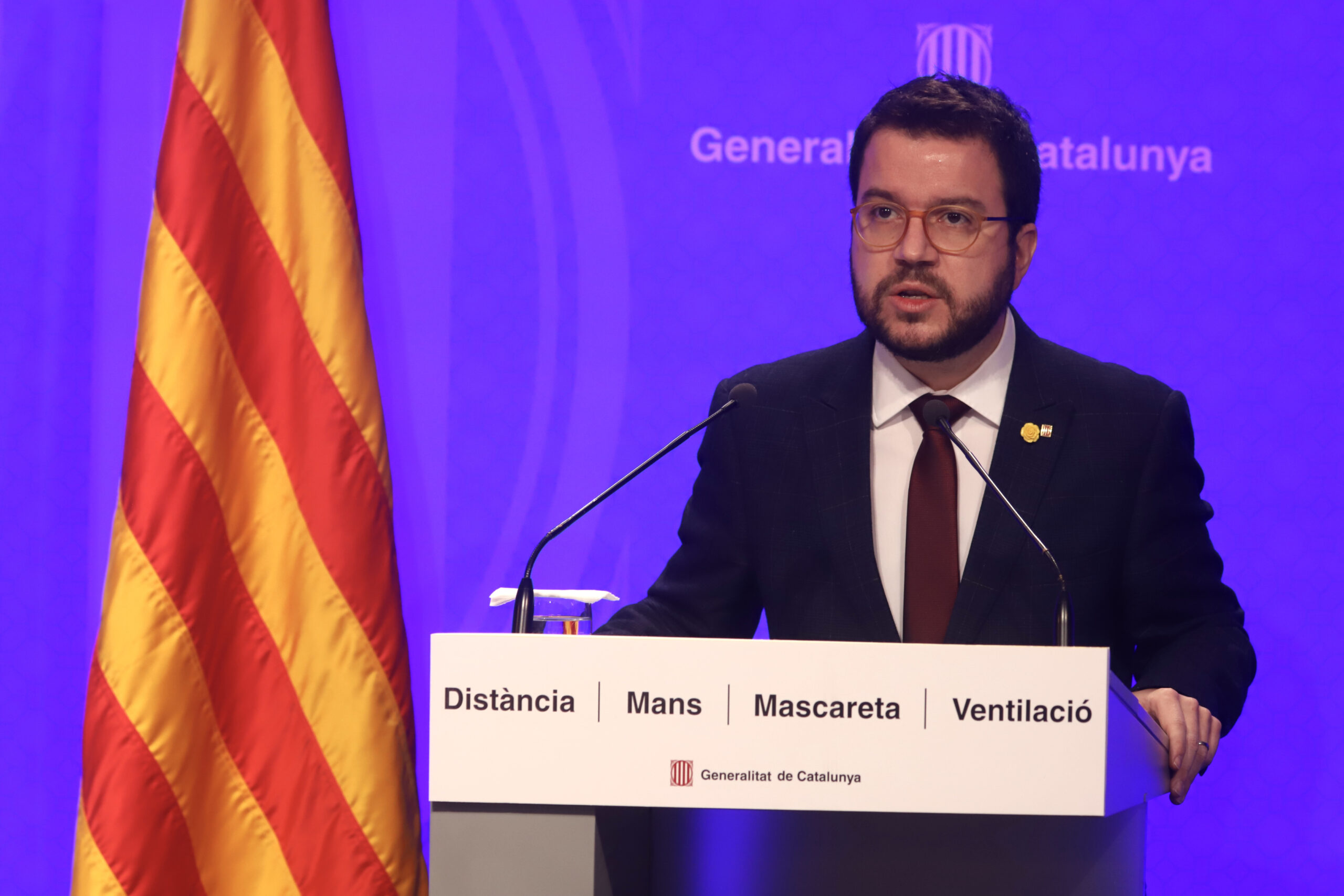 El vicepresident del Govern amb funcions de president, Pere Aragonès | ACN