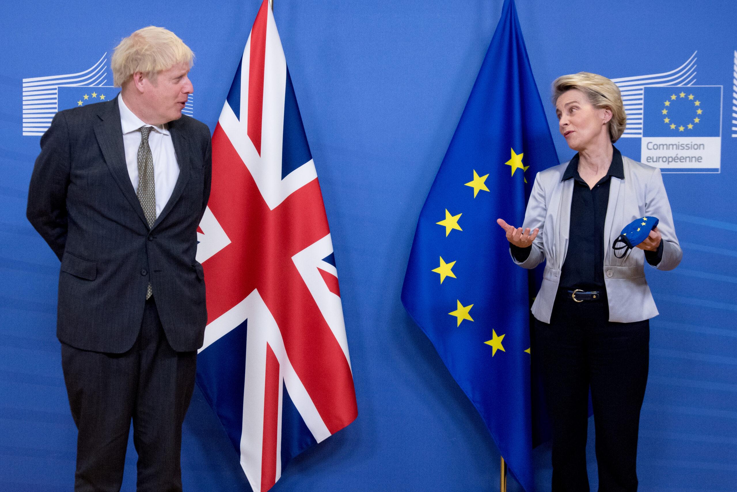Ursula von der Leyen i Boris Johnson | ACN