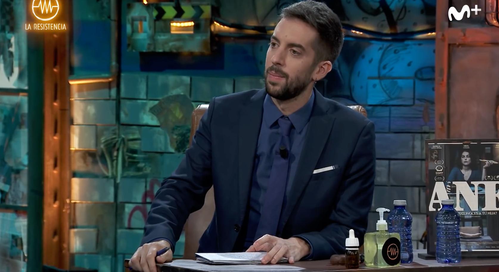 David Broncano anuncia que ha trencat amb la xicota en directe / Movistar +