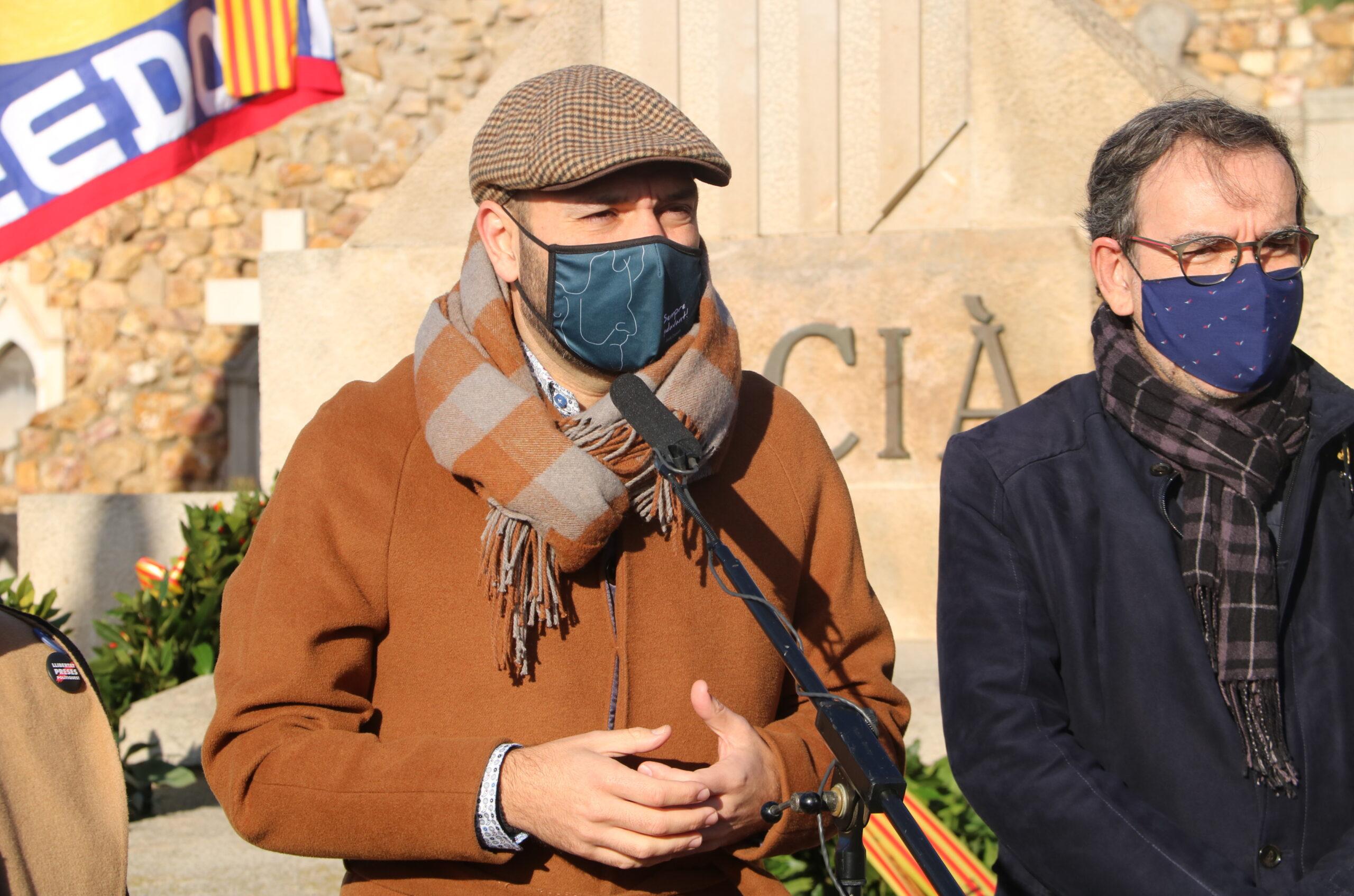El vicepresident d'Òmnium Cultural, Marcel Mauri, el 25 de desembre / ACN