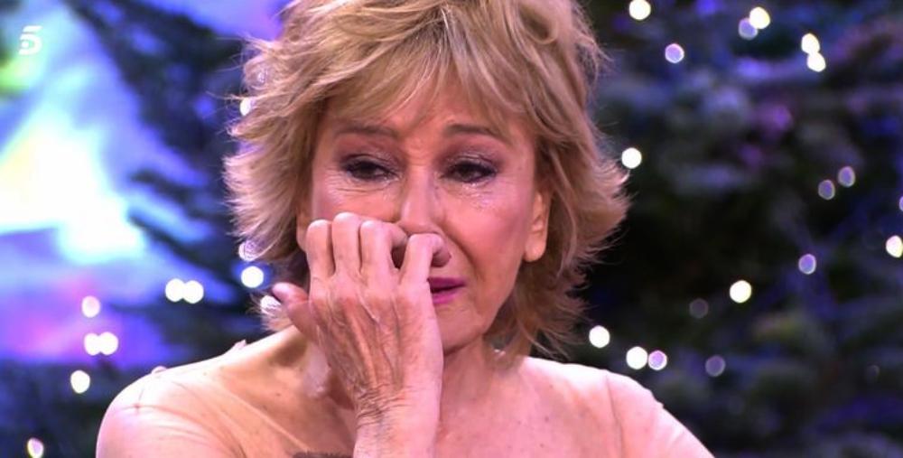 Mila Ximénez trenca a plorar en directe / Telecinco