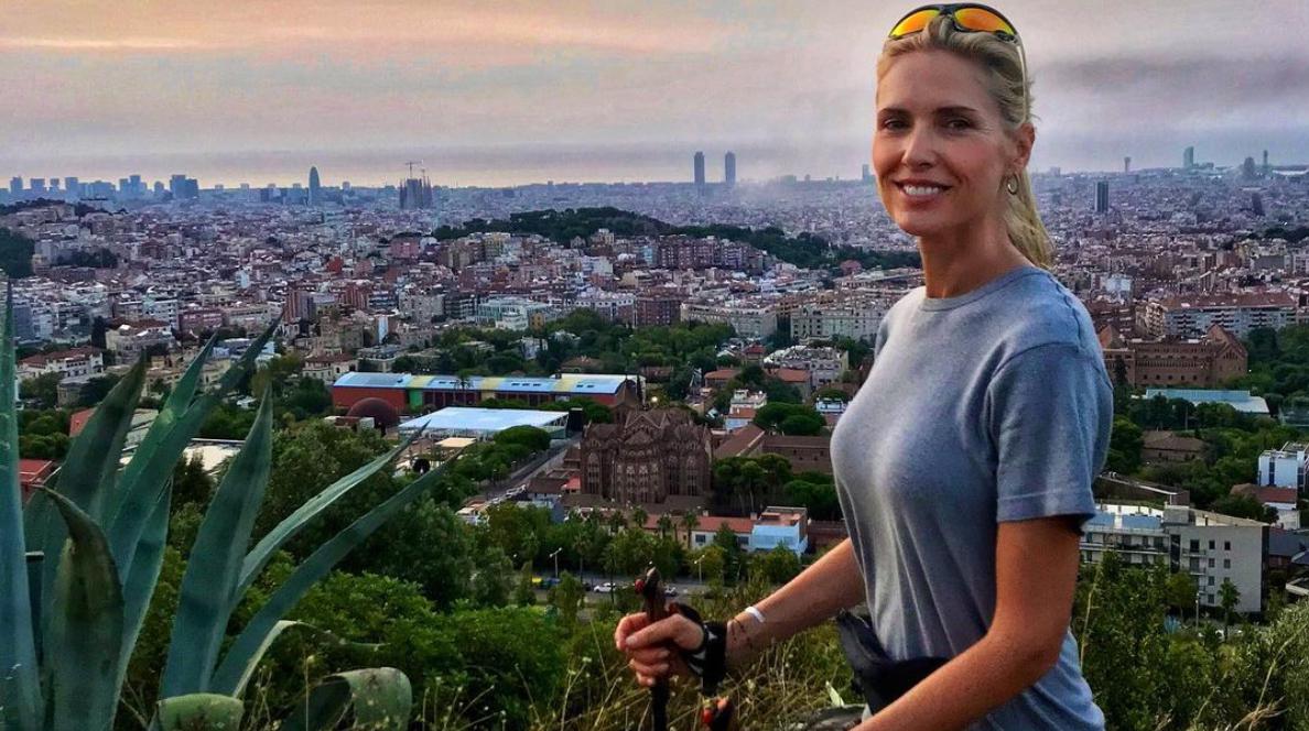 Judit Mascó, amb Barcelona de fons / Instagram