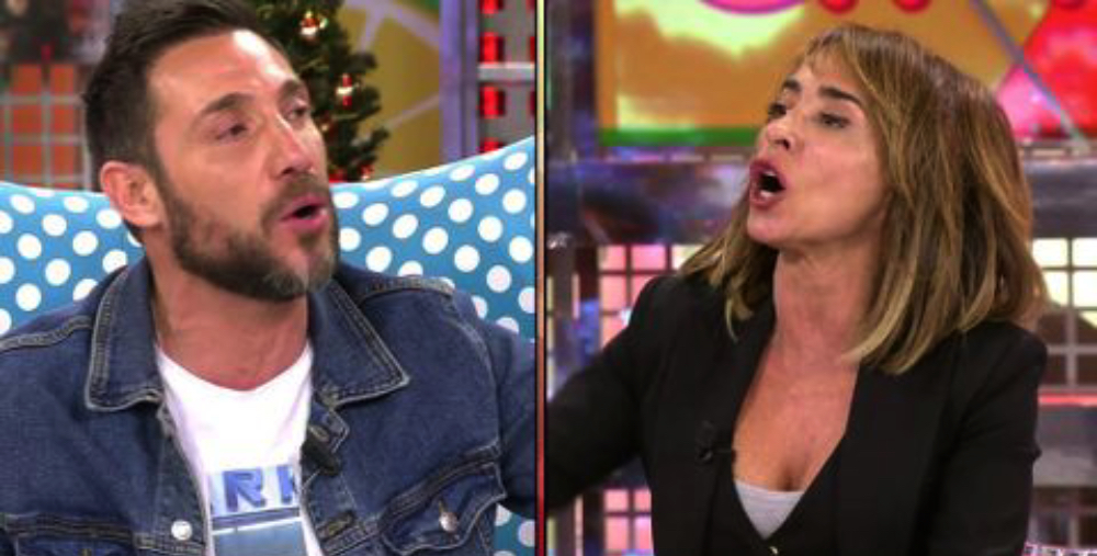 Forta discussió entre Antonio David Flores i María Patiño a 'Sálvame' / Telecinco