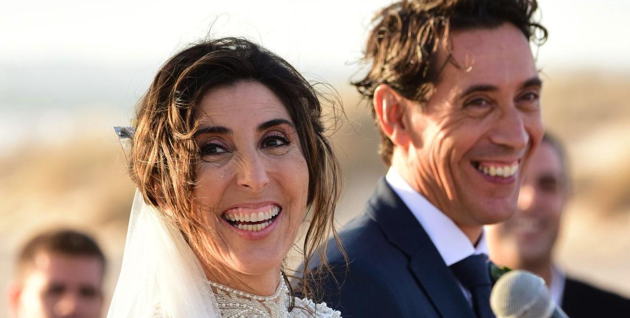 Paz Padilla i el marit, el dia de la boda / Europa Press
