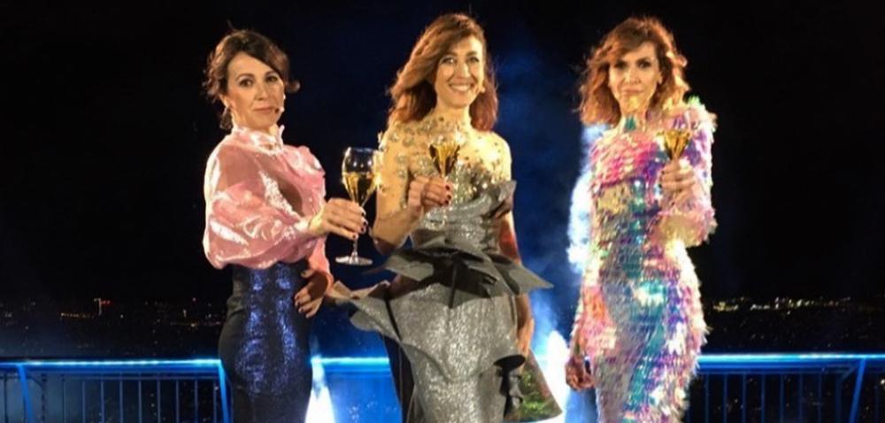 Lídia Heredia, Helena G. Melero i Cristina Puig, al capdavant de les campanades / TV3