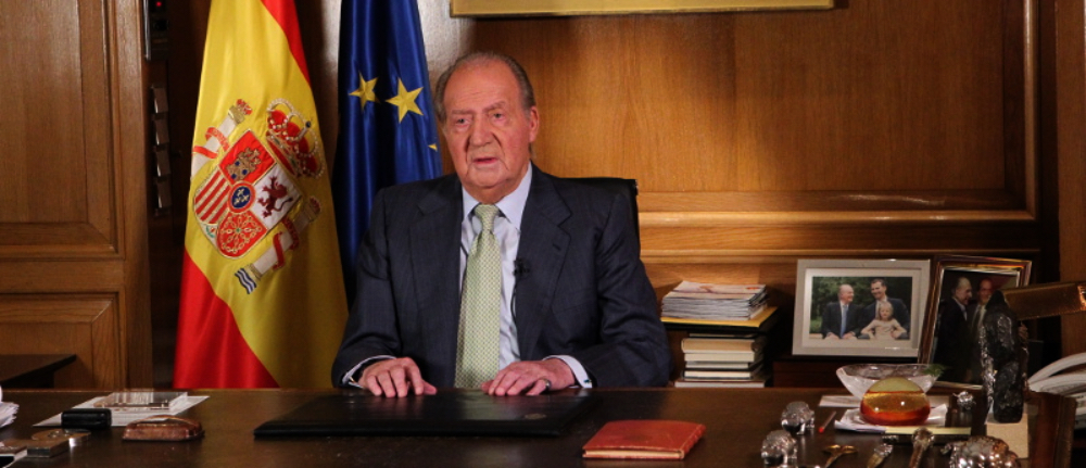Joan Carles anuncia l'abdicació / Casa Reial