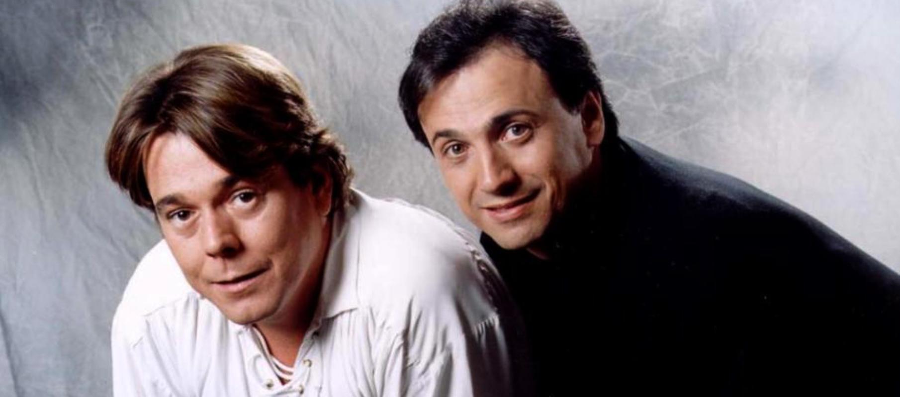 Juan Muñoz i José Mota, en ua promo de 'Cruz y Raya' / TVE