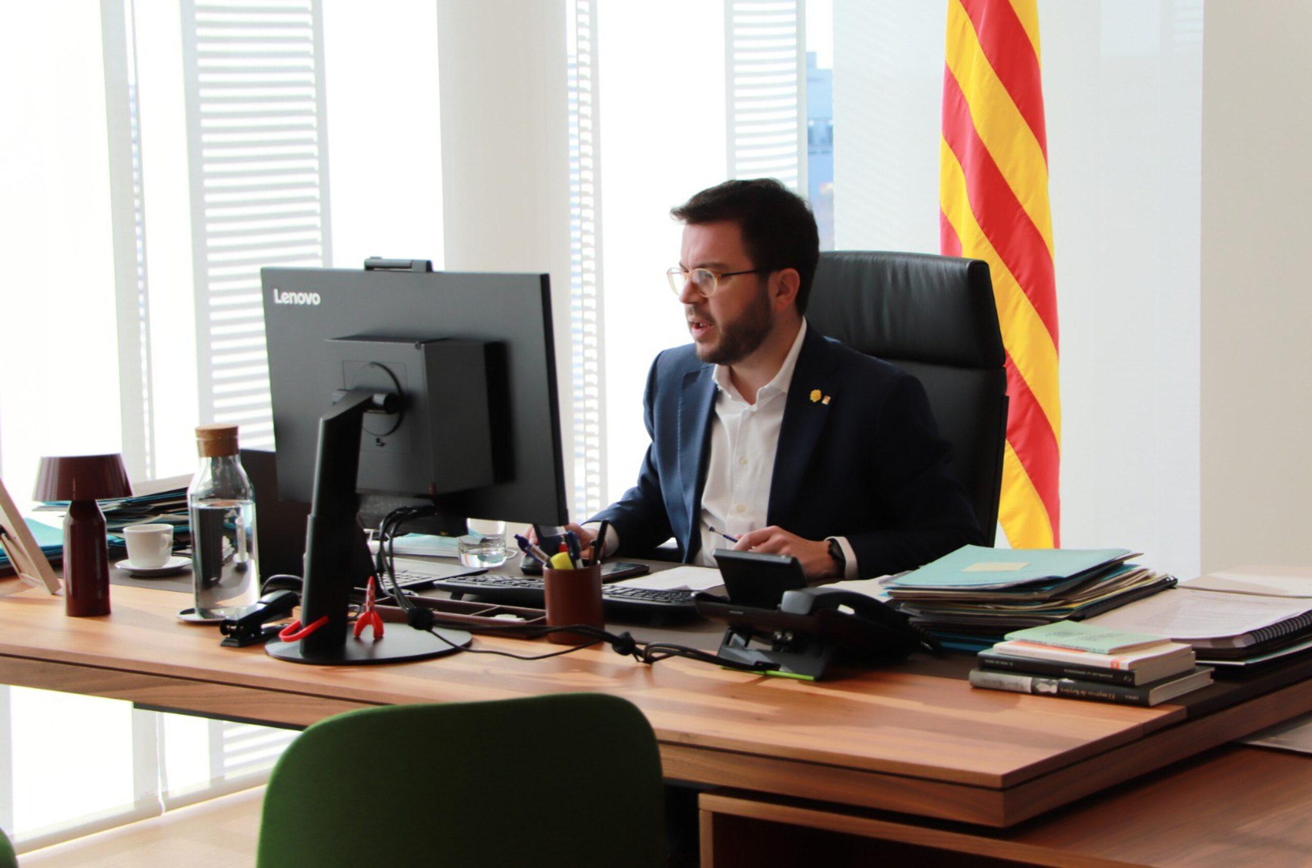 El vicepresident del Govern, Pere Aragonès | ACN