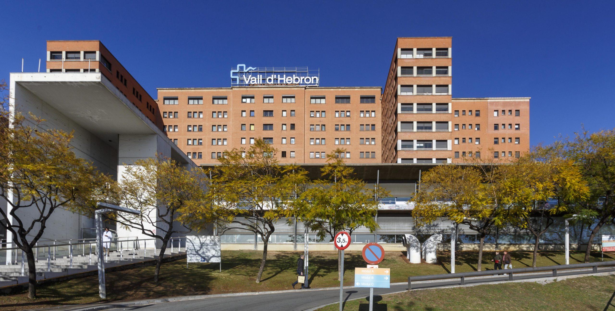 Façana de l'Hospital Vall d'Hebron   Valldhebron