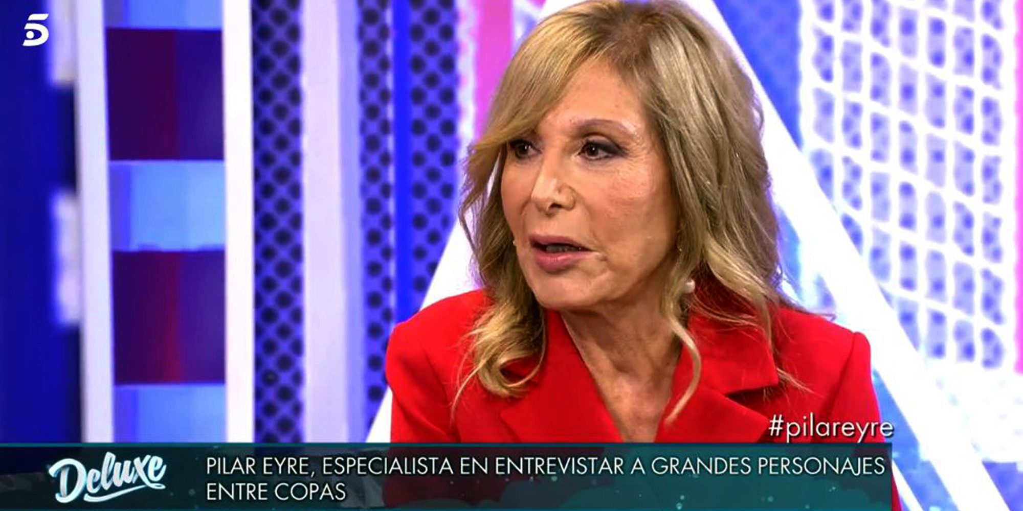 Pilar Eyre parla del seu llibre al 'Sábado Deluxe' / Telecinco