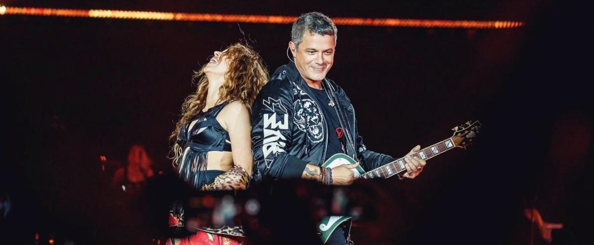 Shakira i Alejandro Sanz, junts en un concert a Barcelona / Instagram