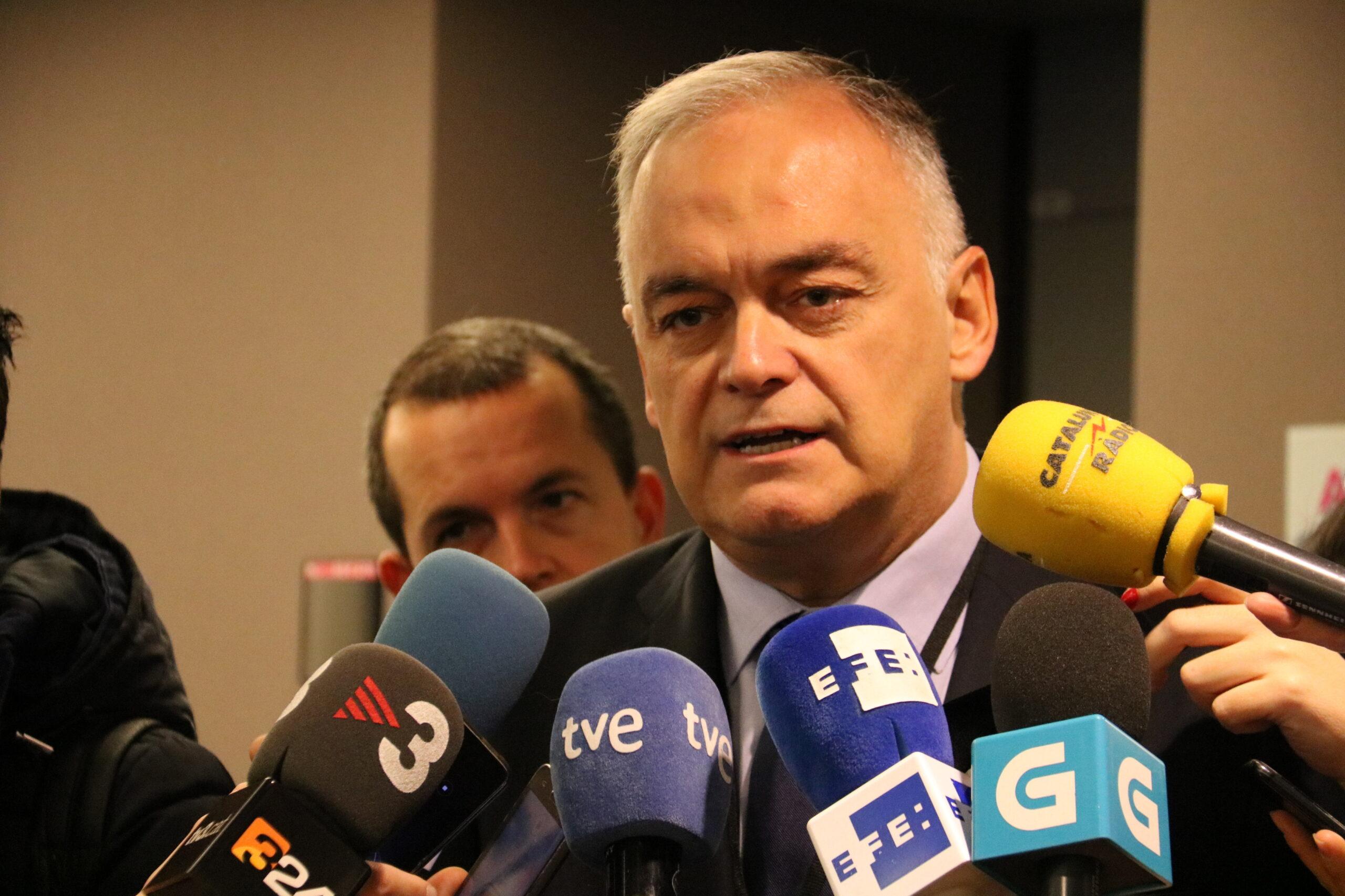 El cap de files del PP a l'Eurocambra, Esteban González Pons, en una imatge d'arxiu / ACN