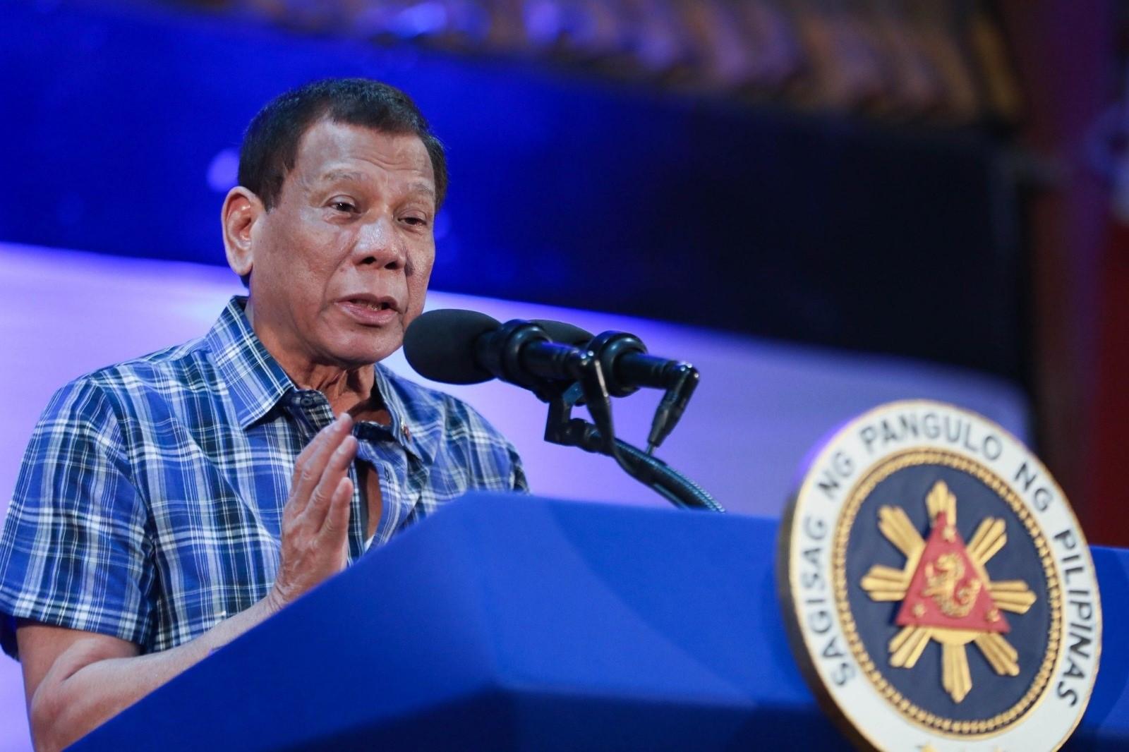 El president de les Filipines, Rodrigo Duterte, en una imatge d'arxiu / Europa Press