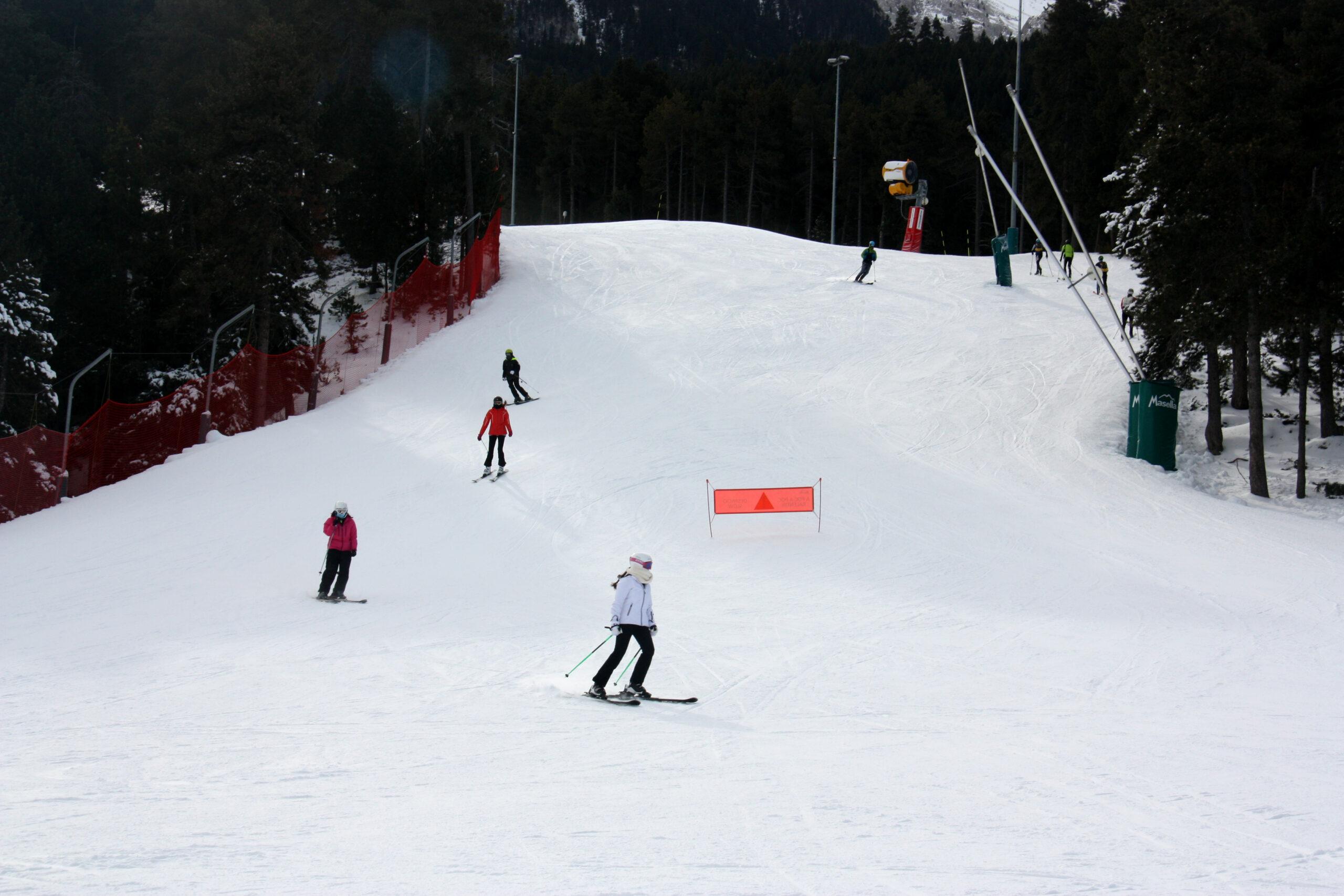 Imatge d'arxiu d'unes pistes d'esquí   ACN