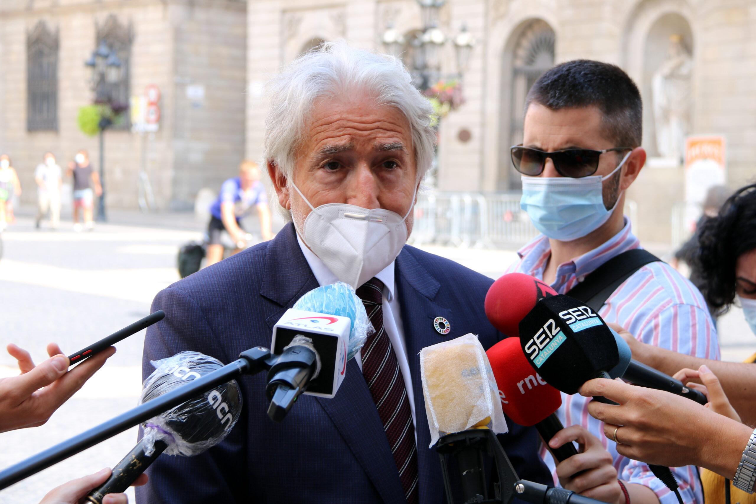 El president de Foment del Treball, Josep Sánchez Llibre | ACN