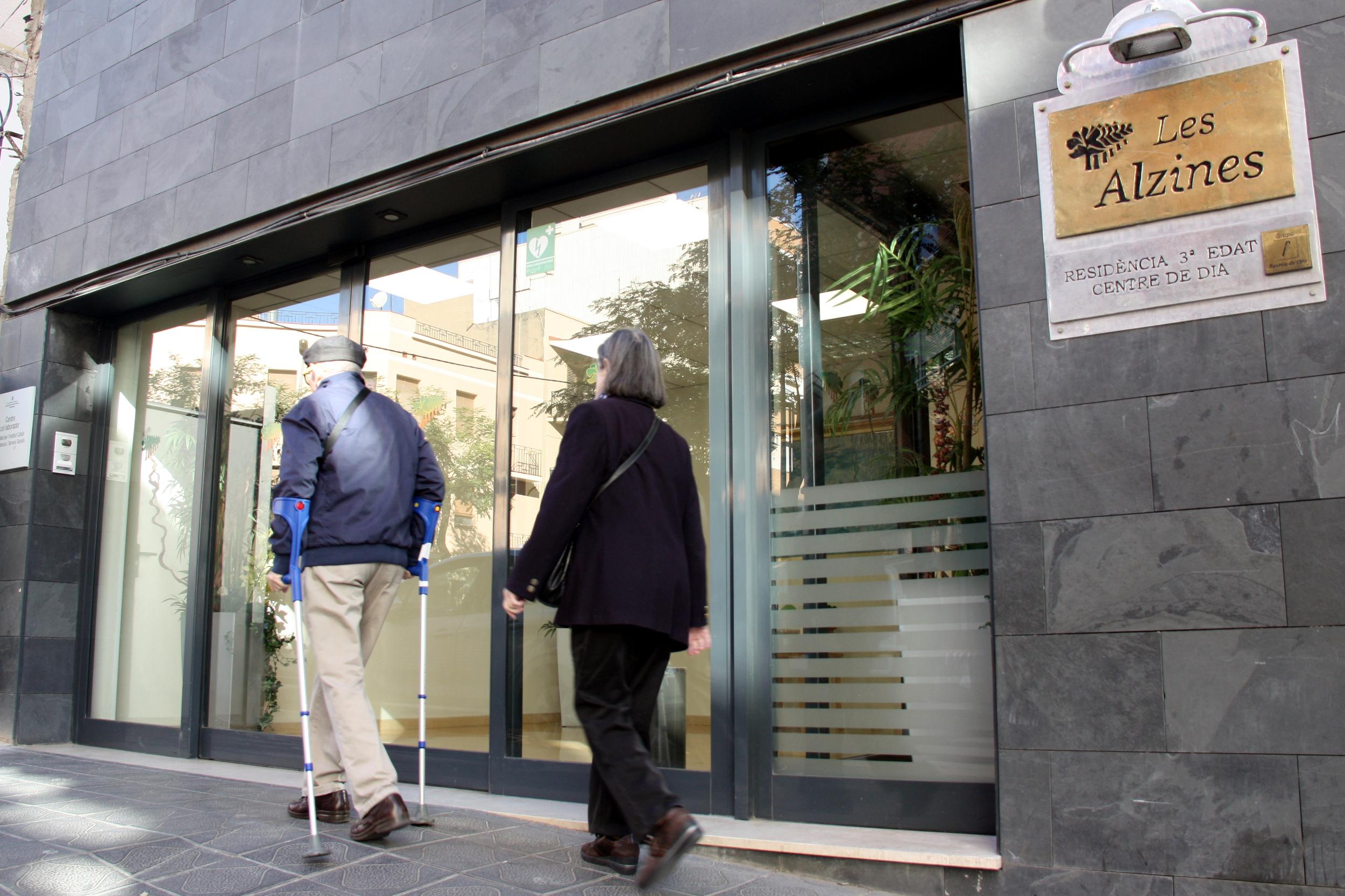Façana principal de la residència Les Alzines de Tarragona | ACN