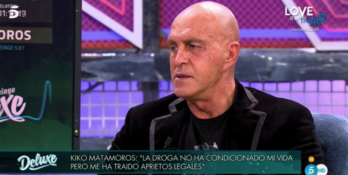 Kiko Matamoros reconeix ser cocaïnòman / Telecinco