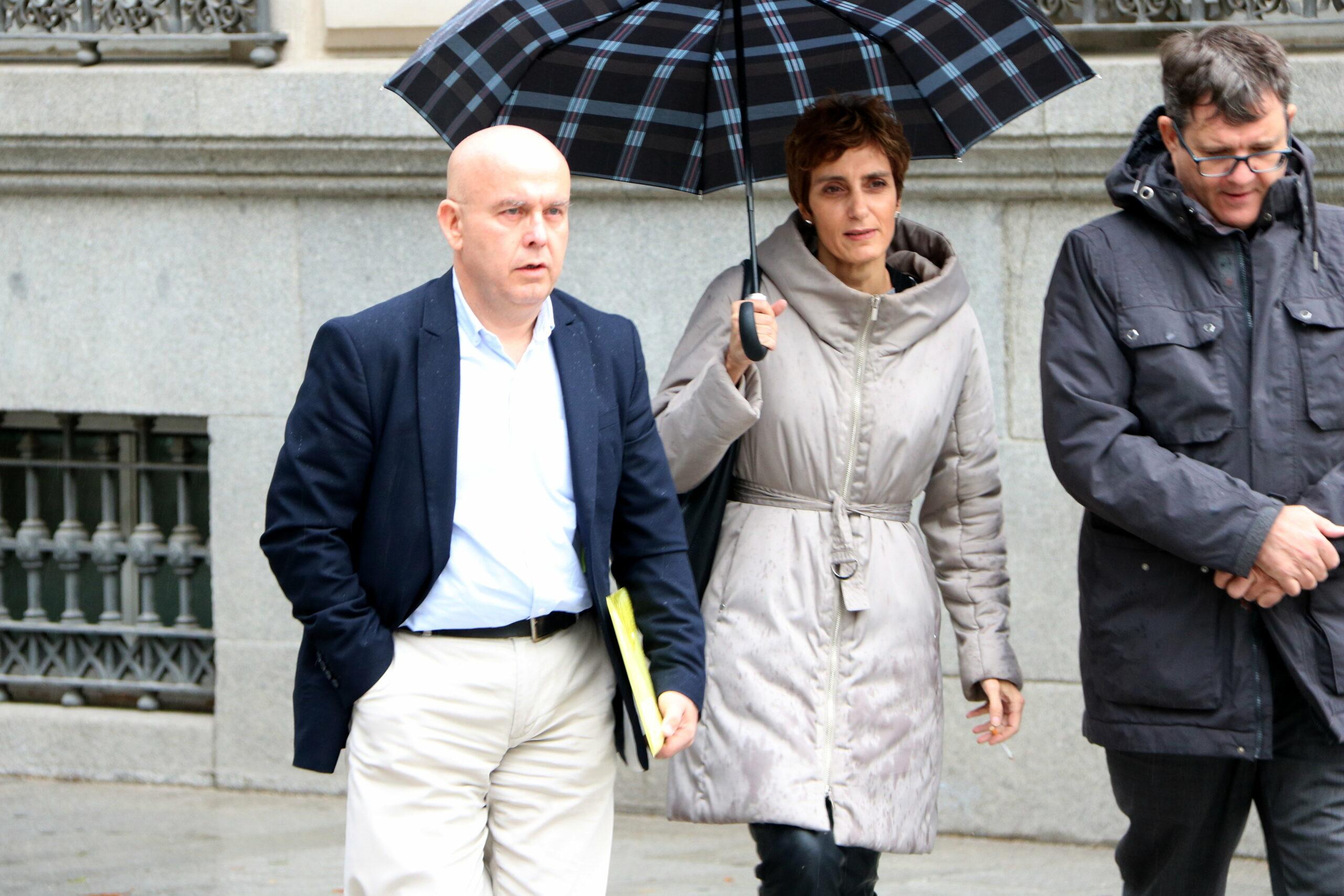 L'advocat Gonzalo Boye a l'arribada a l'Audiència Nacional per declarar com a investigat per blanqueig de capitals, el 23 d'octubre de 2019 / ACN
