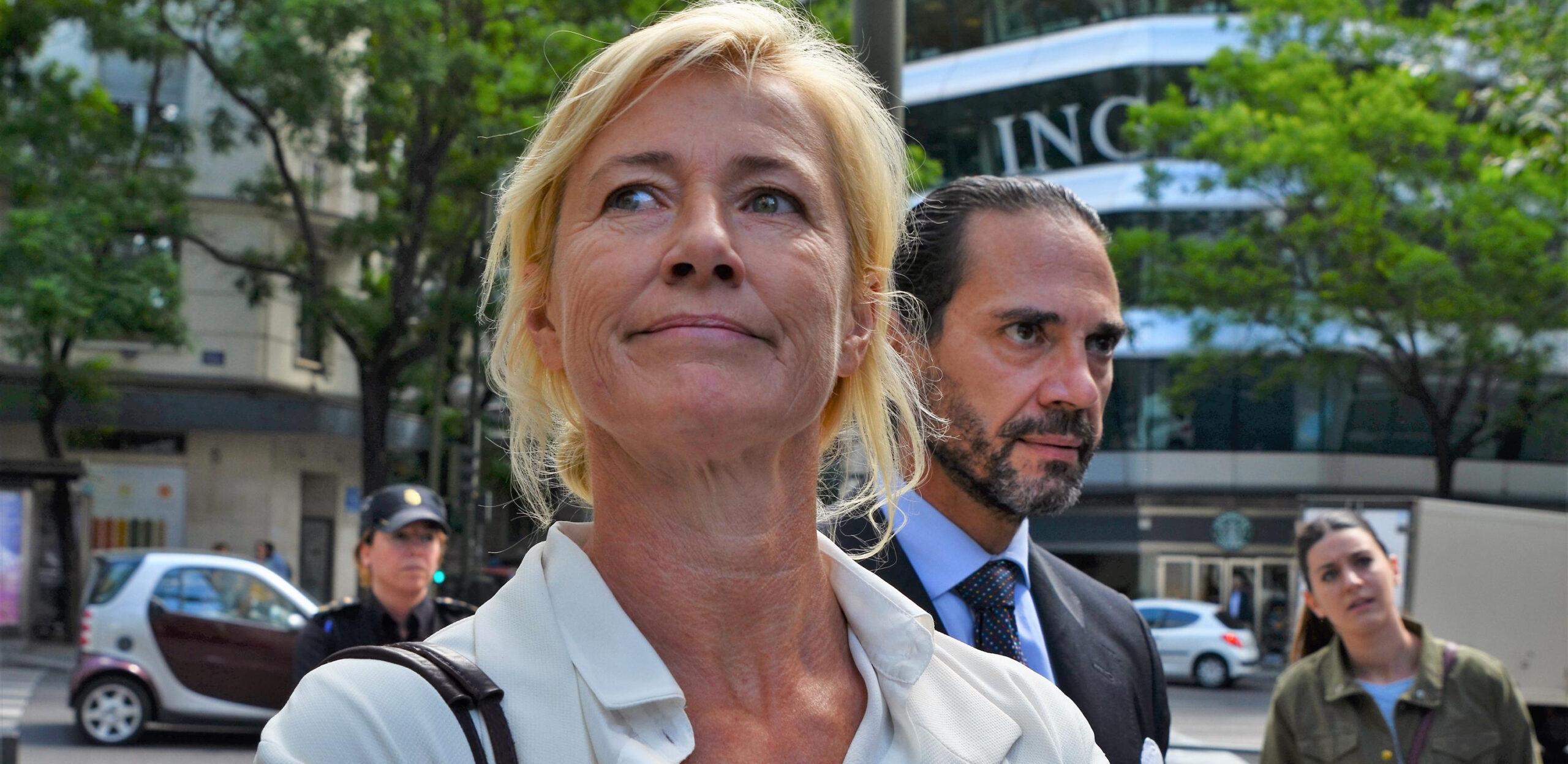 Ana Duato, a la porta dels jutjats / Europa Press