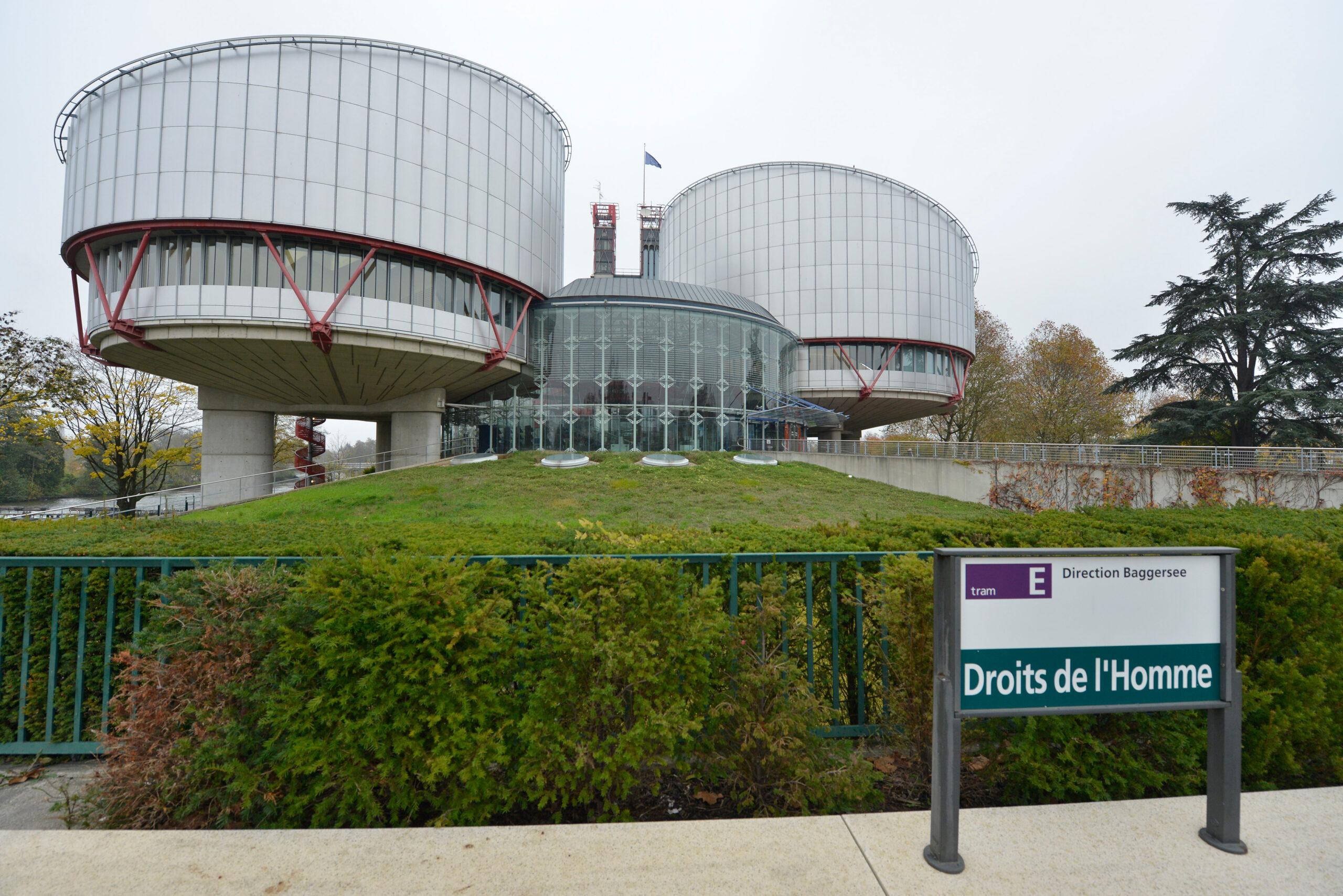 El Tribunal Europeu de Drets Humans a Estrasburg   ACN