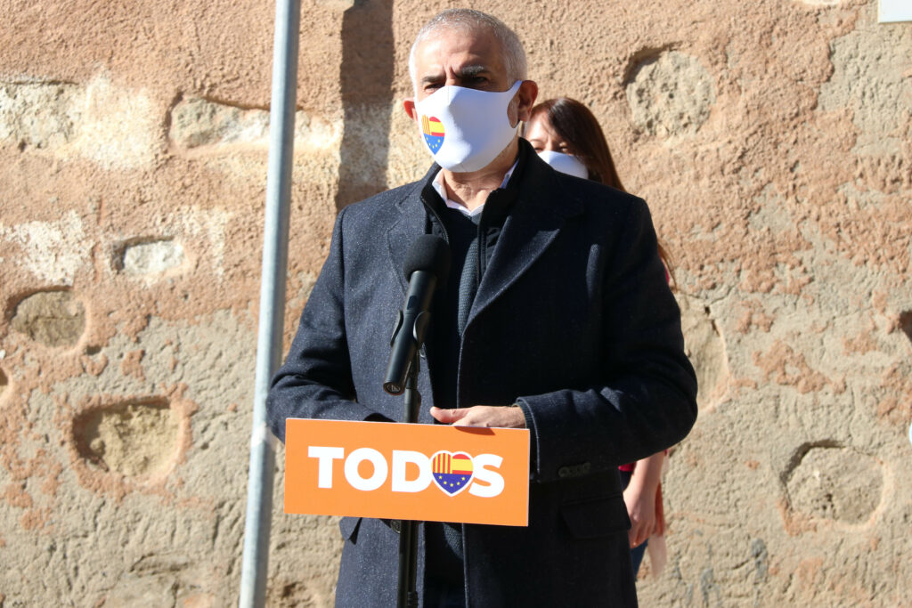 El líder de Cs, Carlos Carrizosa | ACN