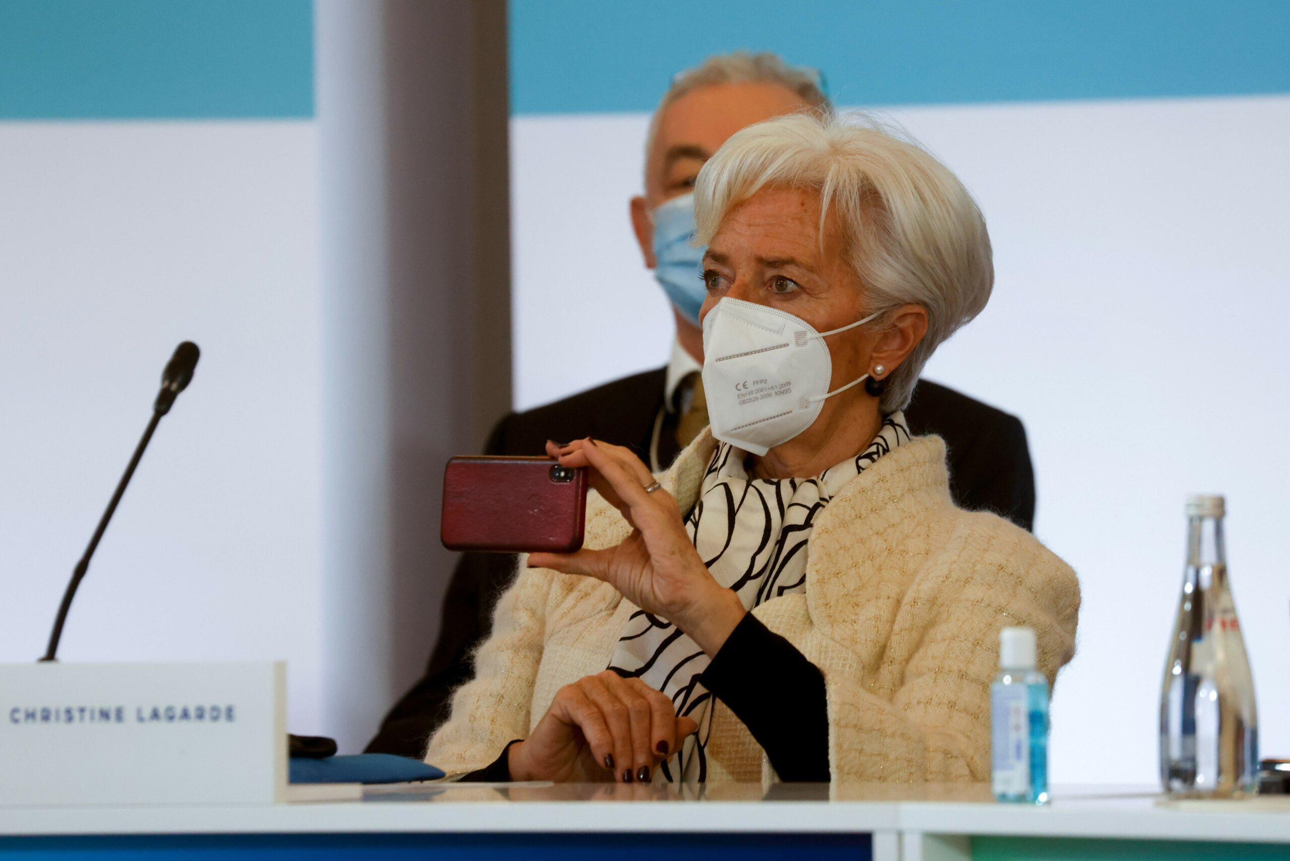 Christine Lagarde, en una reunió a París, l'11 de gener / Ludovic Marin/AFP/dpa