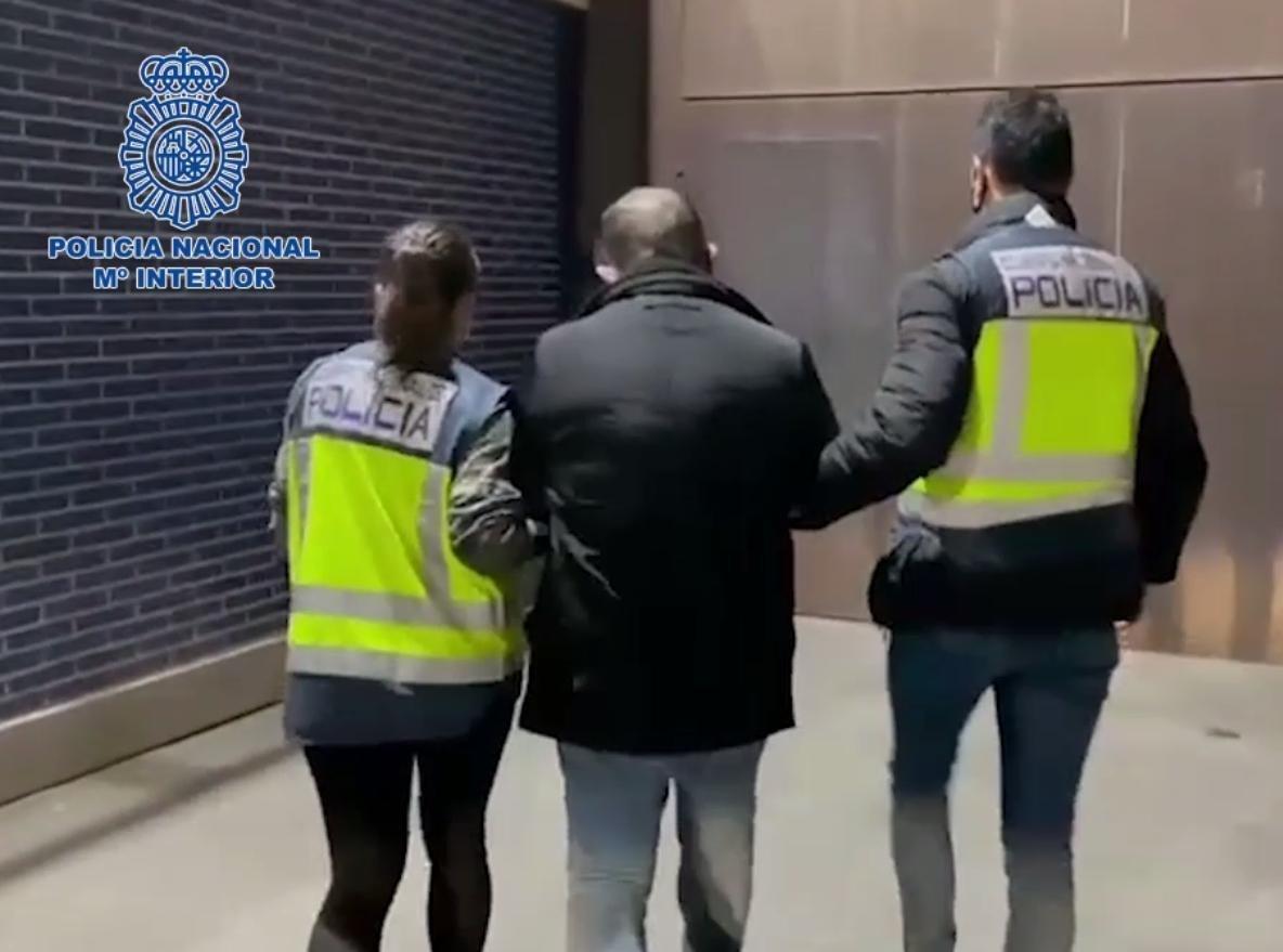 La detenció d'un violador francès condemnat per atacar una àvia / CNP / Europa Press