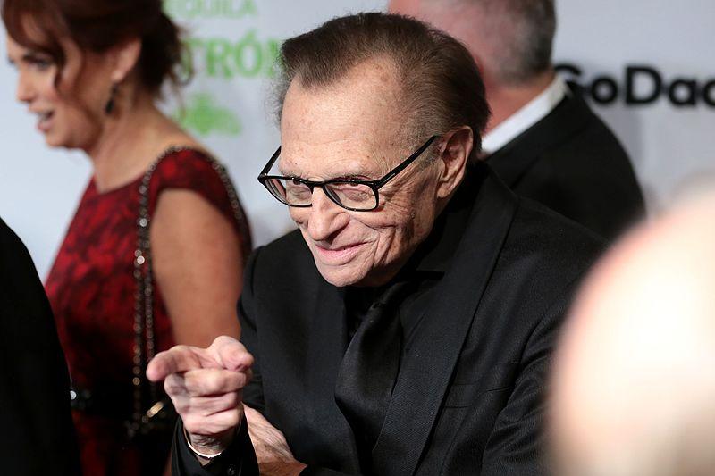 Larry King / Wikipedia