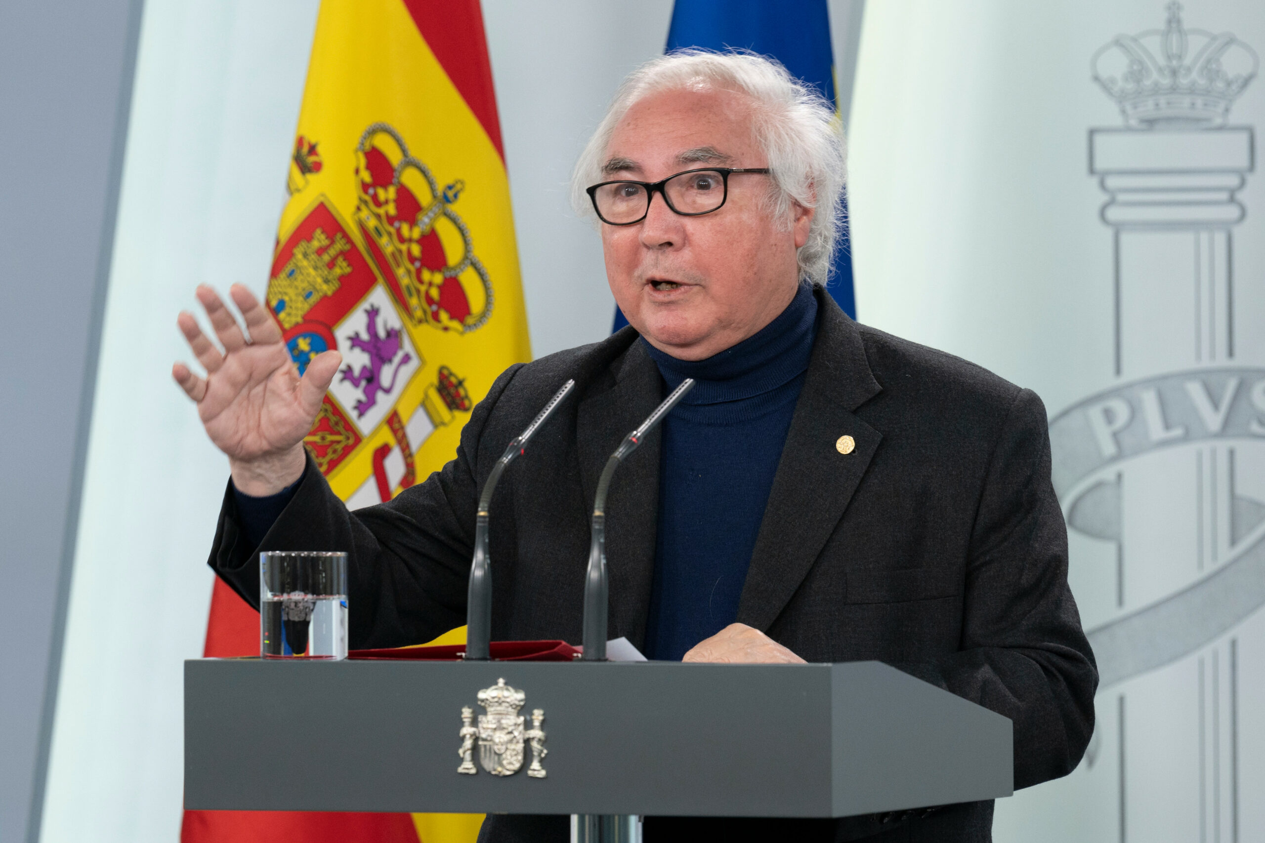 El ministre d'Universitats Manuel Castells