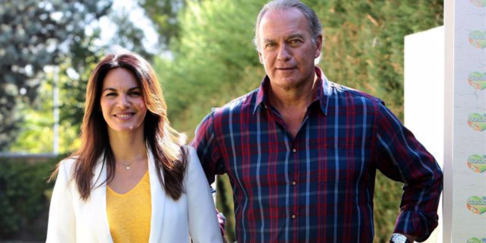 Fabiola i Bertín Osborne, en una campanya publicitària / Europa Press