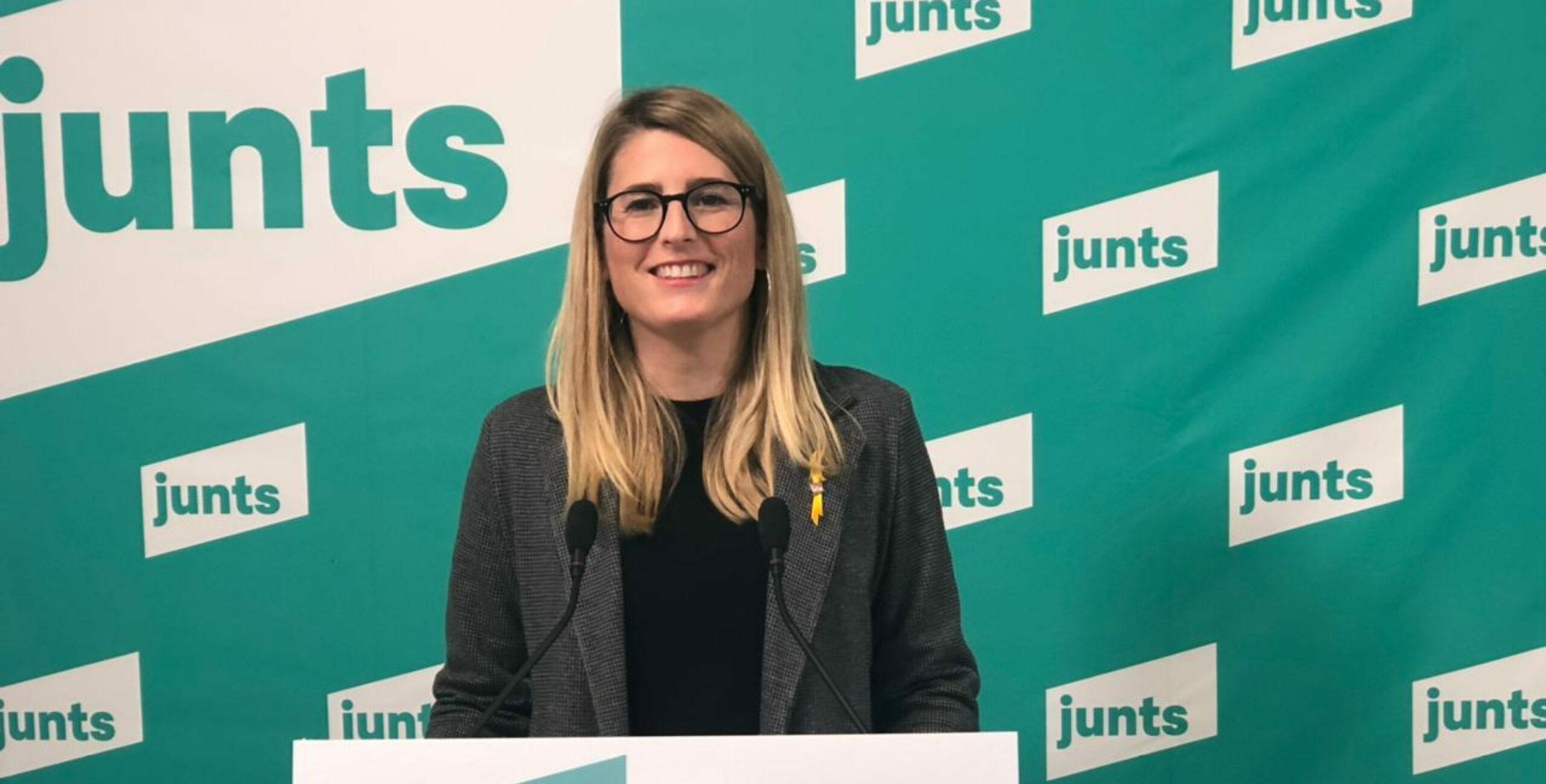 La portaveu de JxCat, Elsa Artadi   ACN