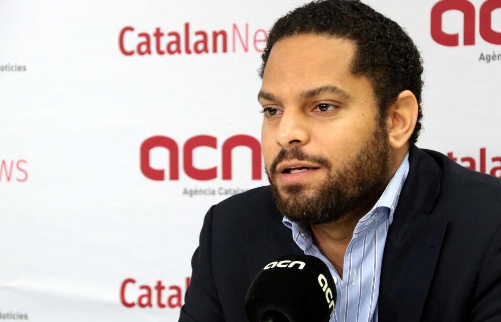 Ignacio Garriga, presidenciable de Vox a les eleccions al Parlament | ACN