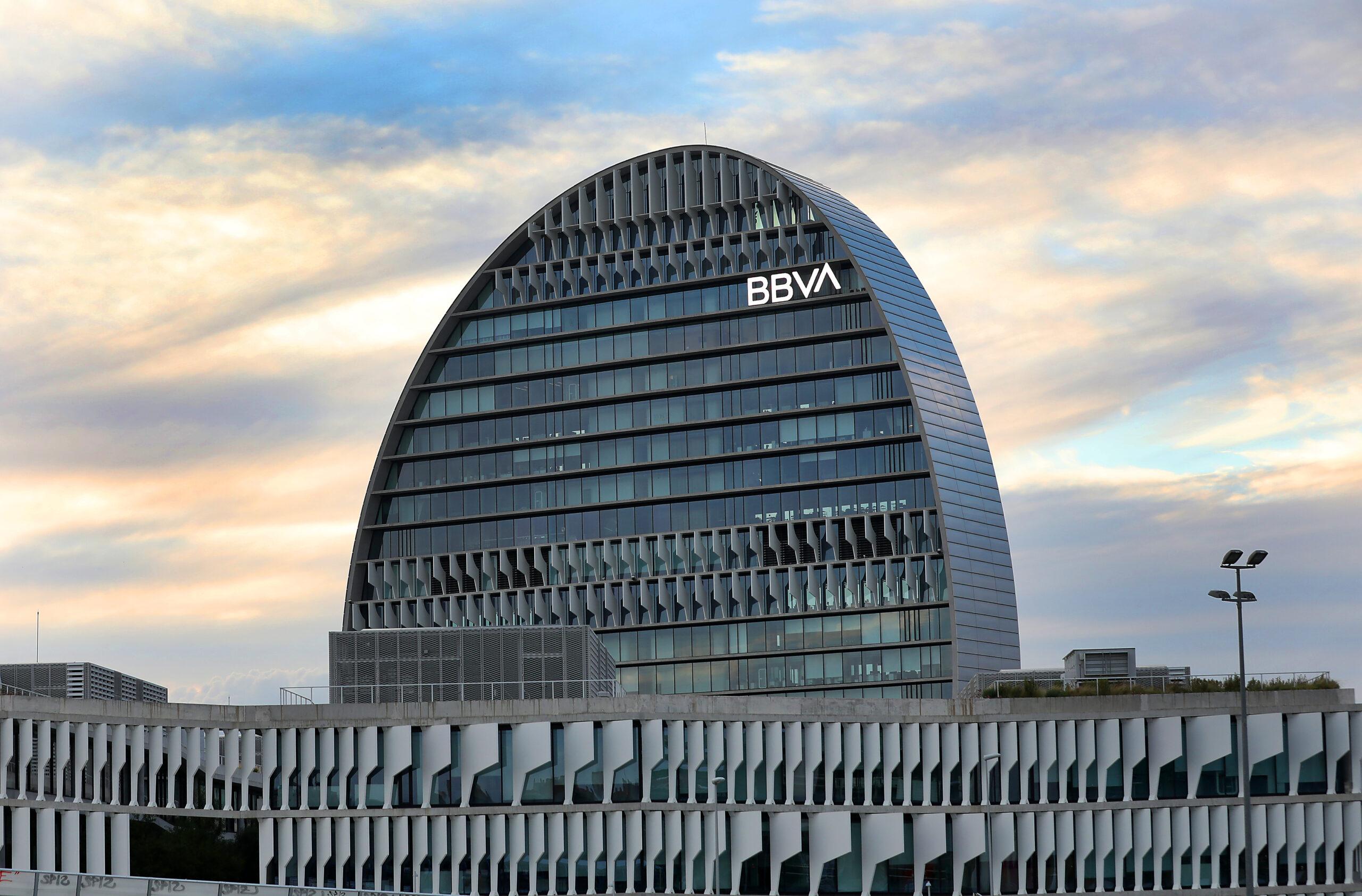 Imatge de la seu del BBVA | ACN