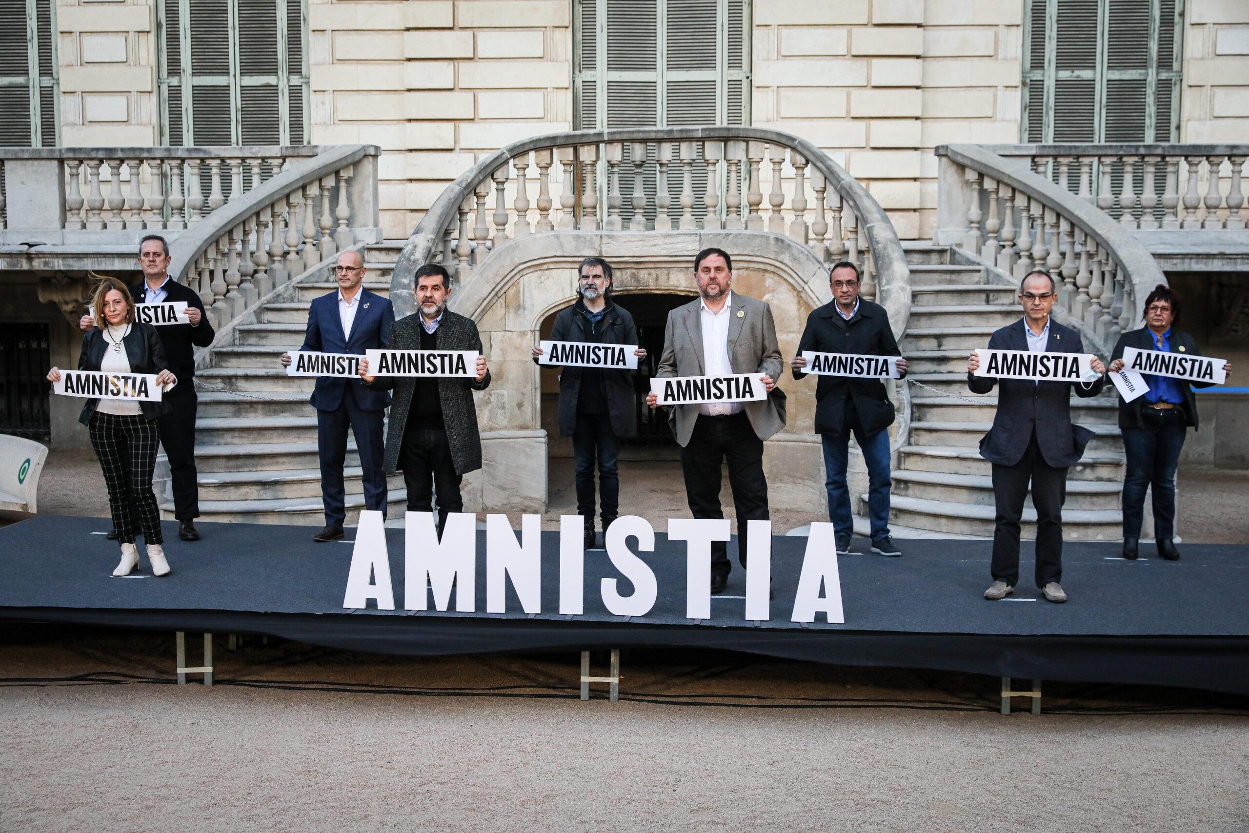 Els presos i preses polítiques en l'acte d'Òmnium Cultural / Jordi Borràs
