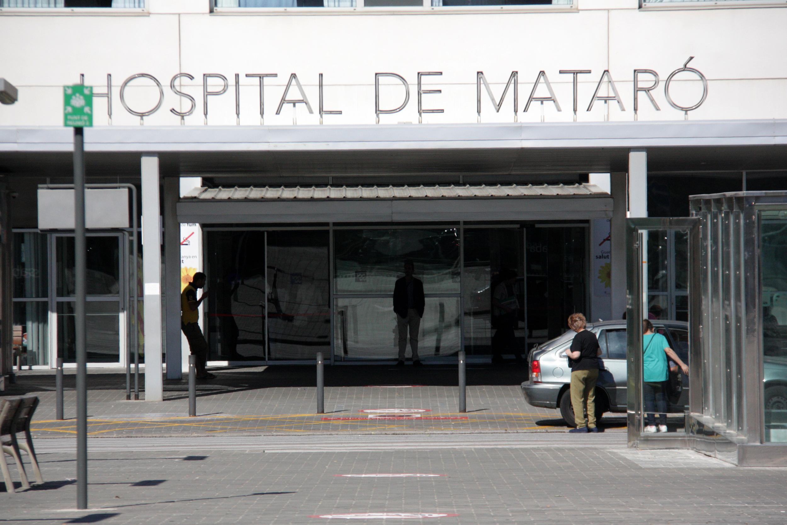 L'accés principal a l'Hospital de Mataró   ACN