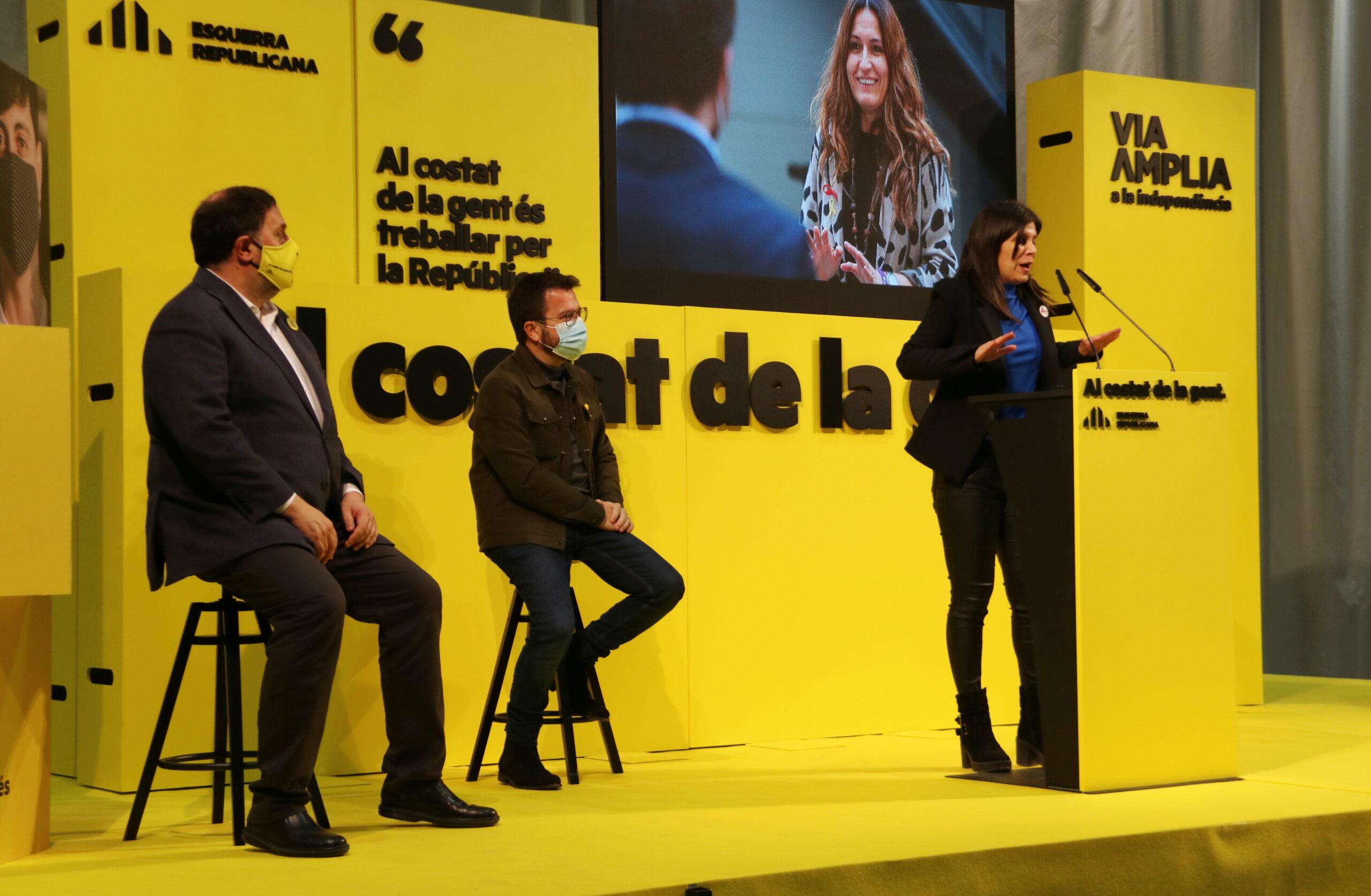 Míting d'ERC a Lleida, amb Oriol Junqueras ACN
