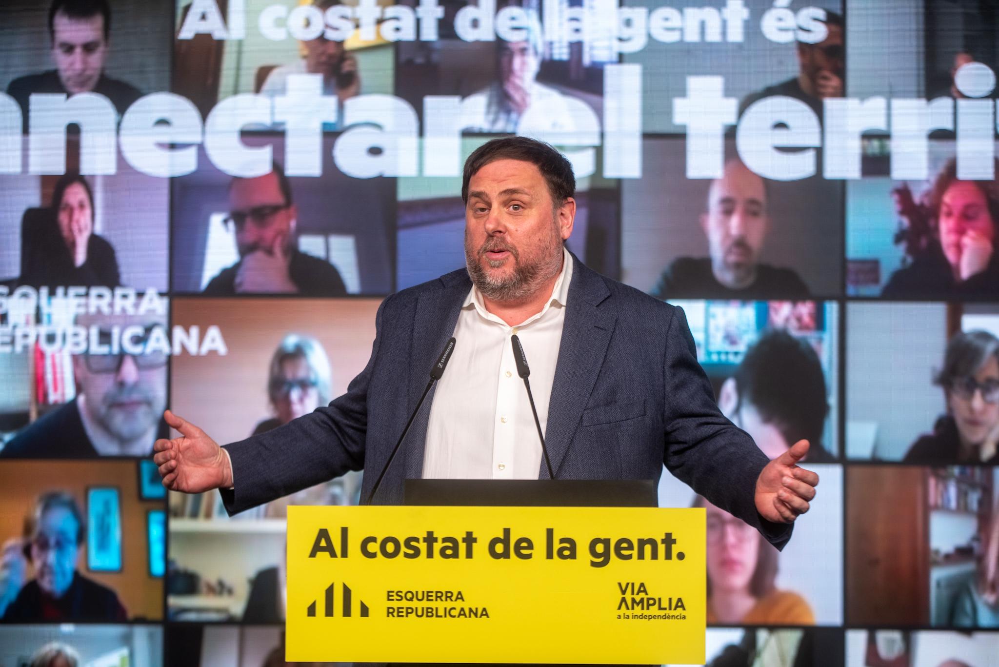 El president d'ERC, Oriol Junqueras | ACN
