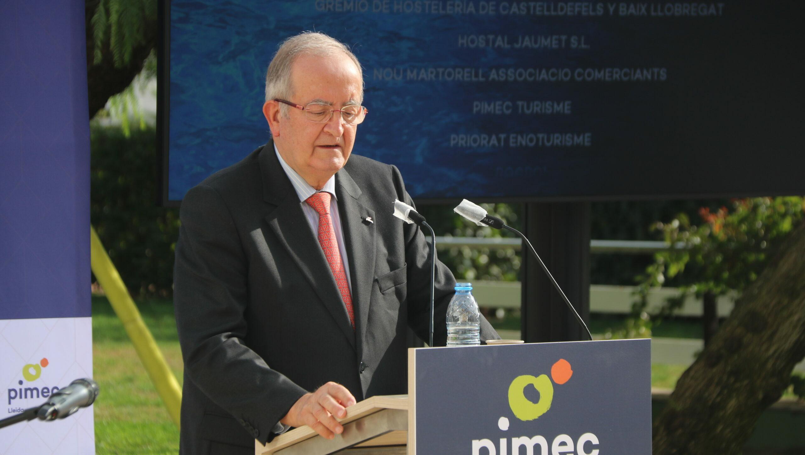 El fins ara president de Pimec, Josep González | ACN