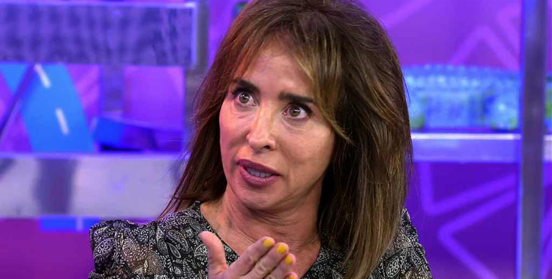 María Patiño esclata, molt enfadada a 'Sálvame' - Telecinco