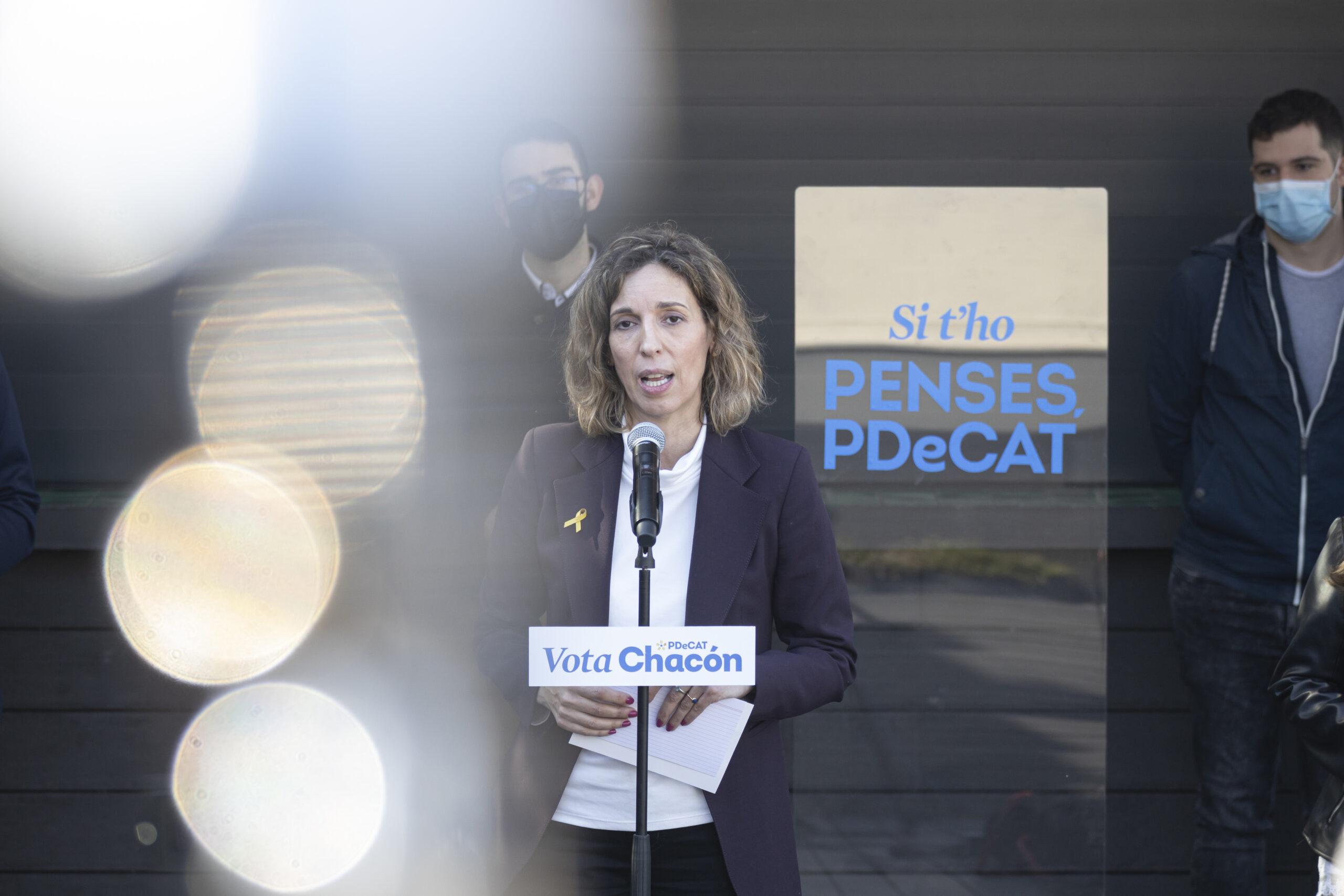 La candidata del PDeCAT a les eleccions, Àngels Chacón | ACN