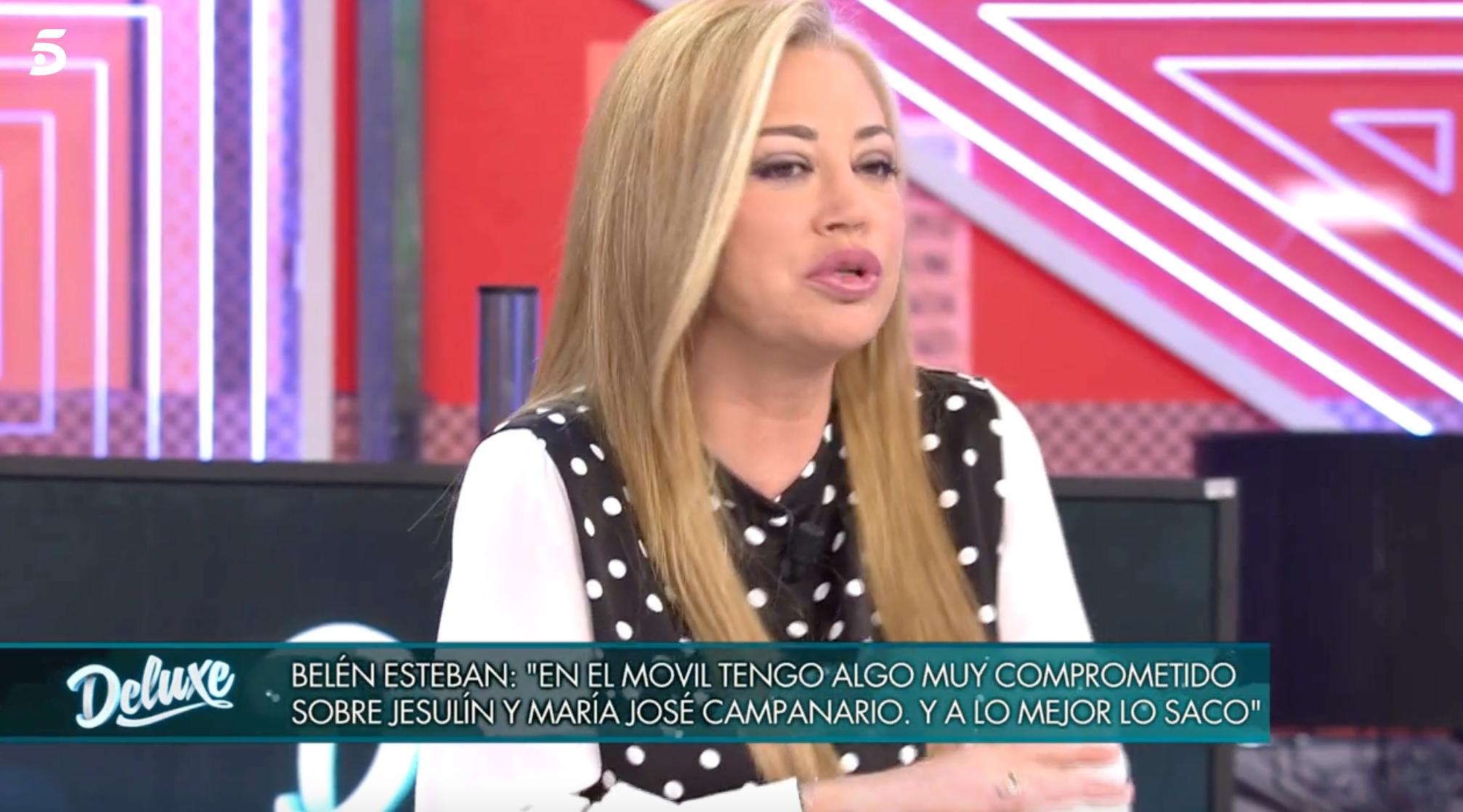 Belén Esteban a 'Domingo Deluxe' | Telecinco
