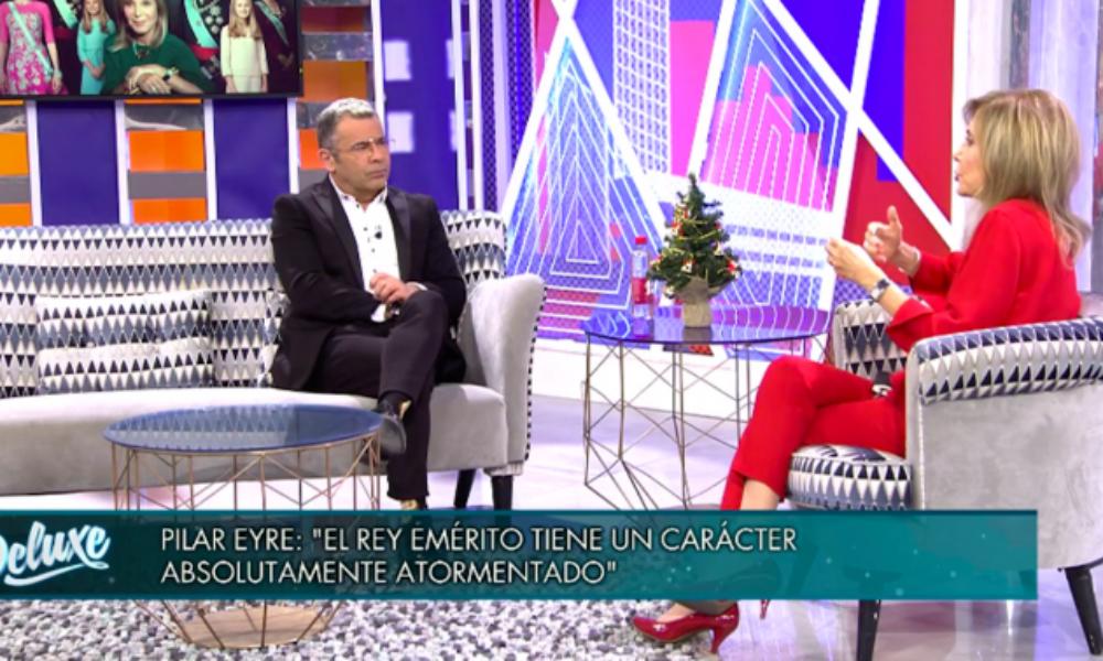 Jorge Javier Vázquez entrevista Pilar Eyre / Telecinco