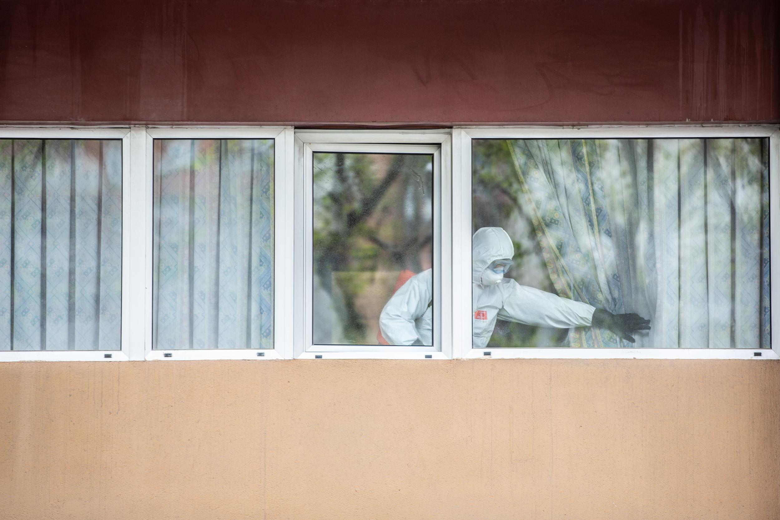 Les residències han estat un gran focus d'infecció des de l'inici de la pandèmia / Jordi Play